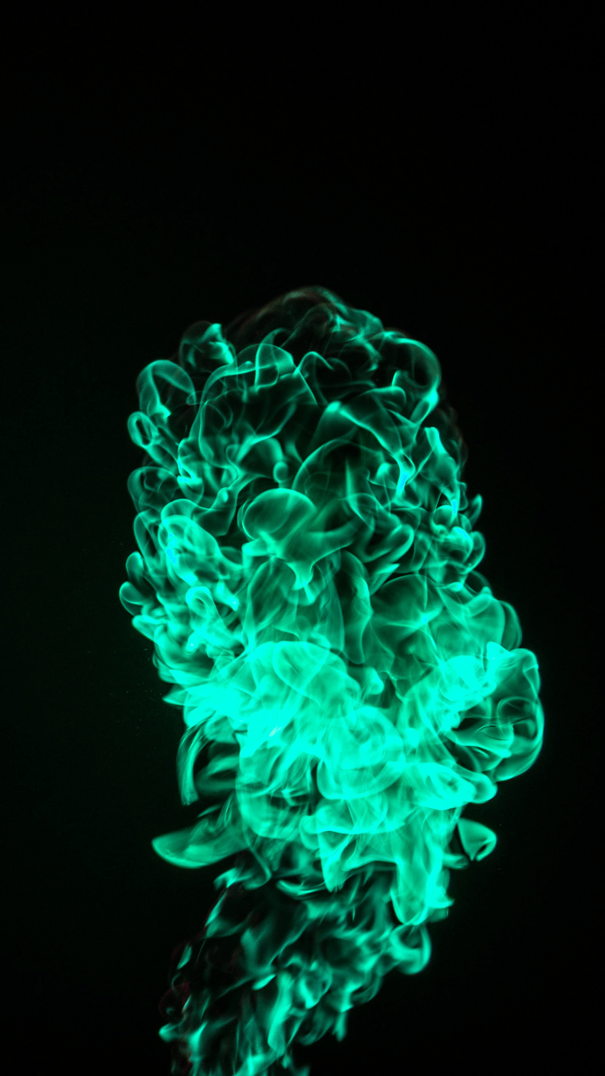 Iphonexpapers Com Iphone X Wallpaper Vp00 Fire Green Dark Pattern