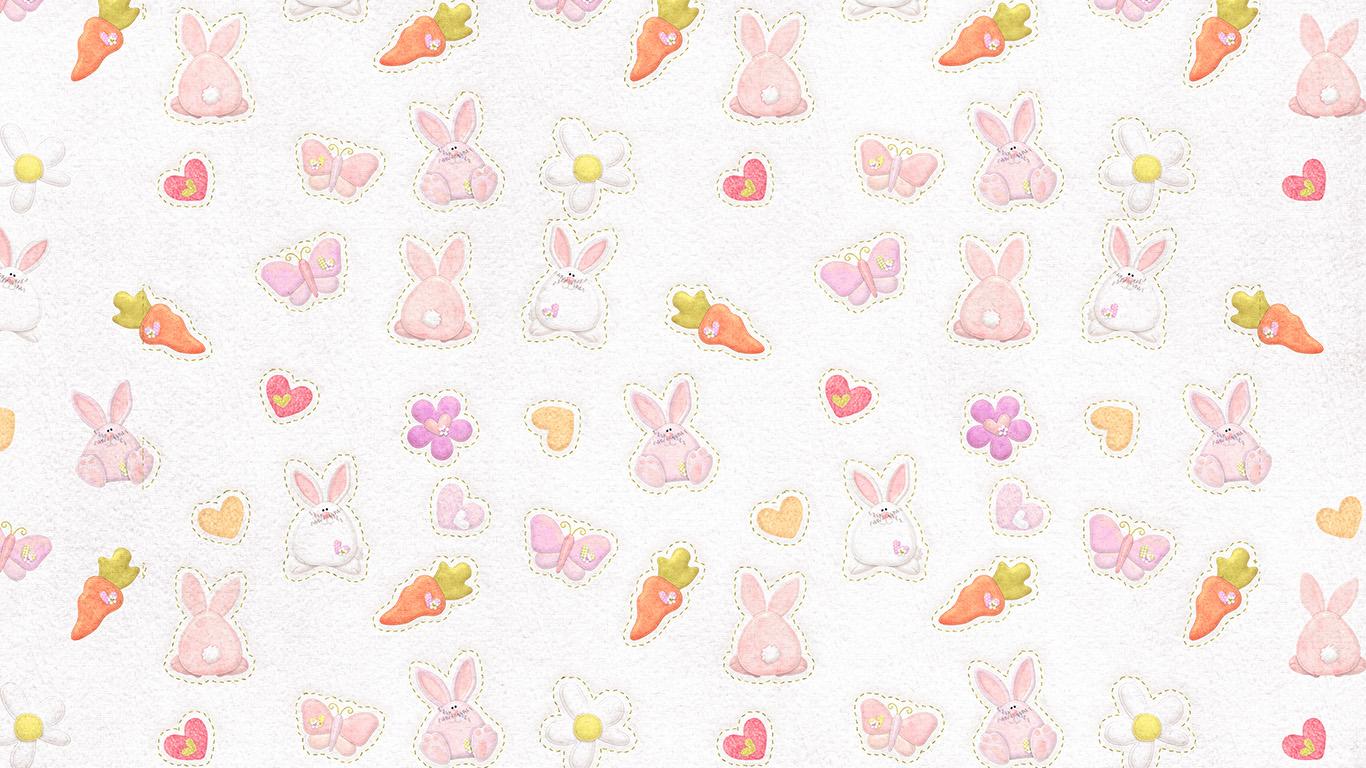 wallpaper for desktop, laptop   vp06-cute-rabbit-chracter