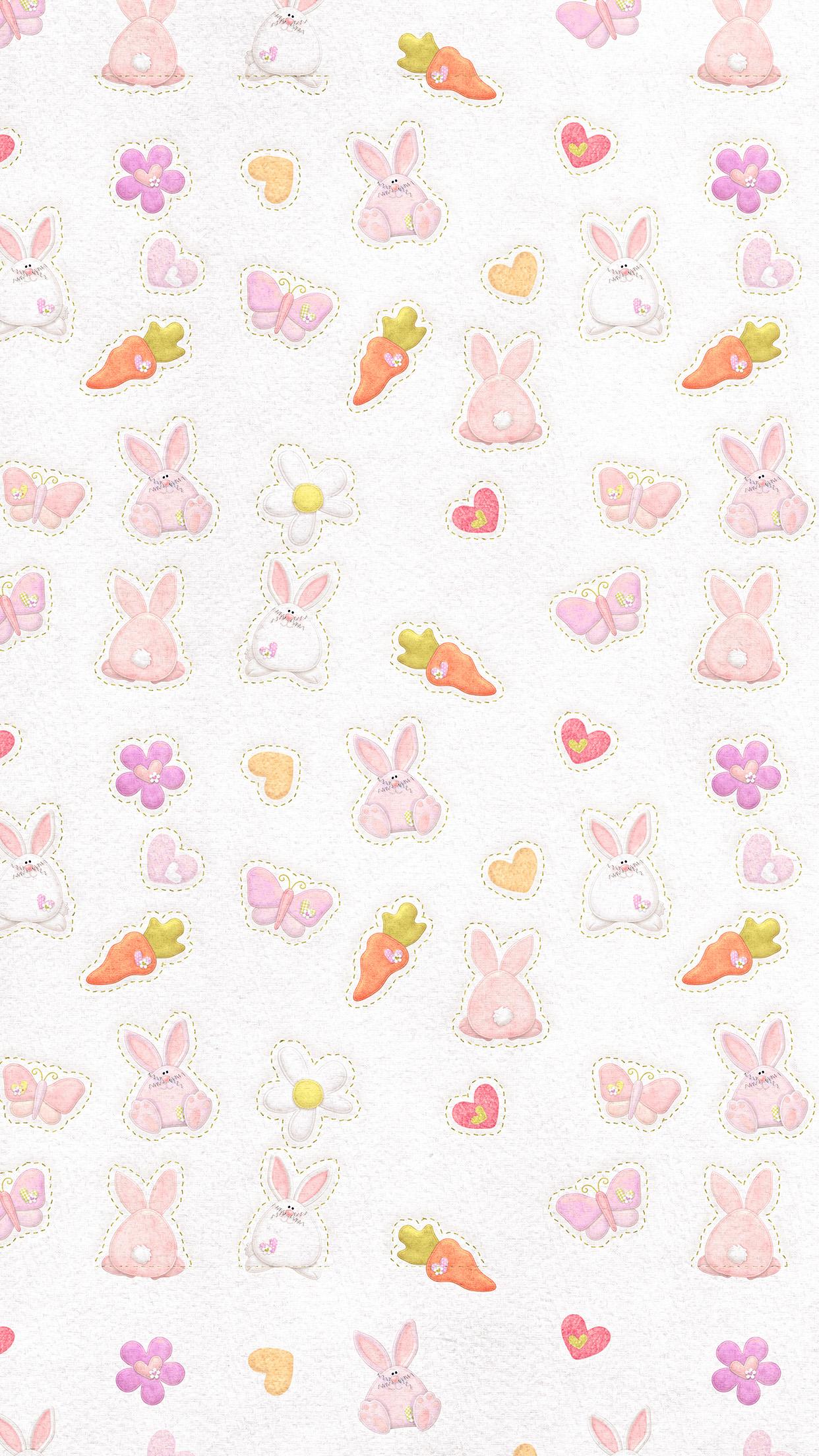 Iphonepapers Com Iphone Wallpaper Vp06 Cute Rabbit