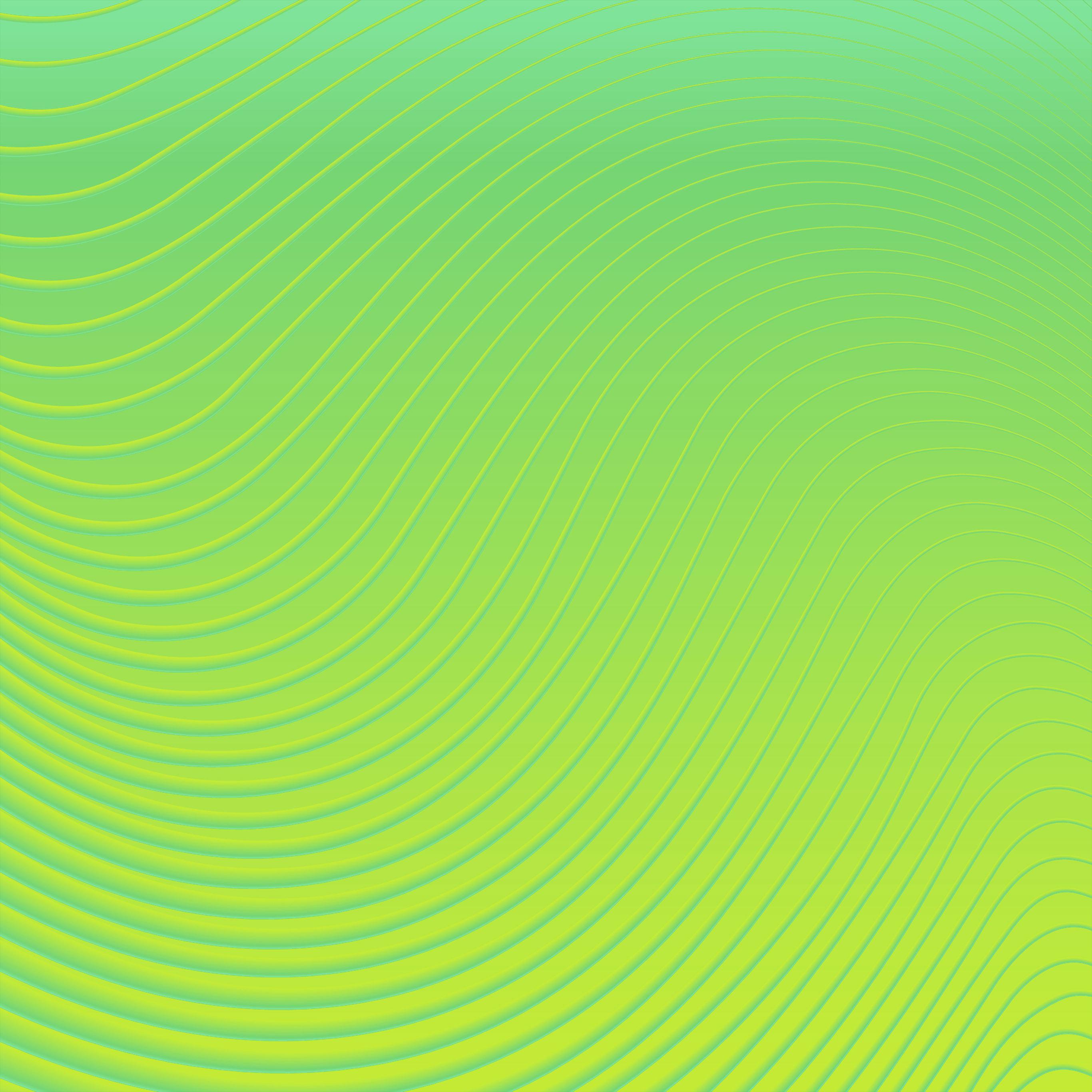 Vp12 Curve Green Yellow Pattern Wallpaper