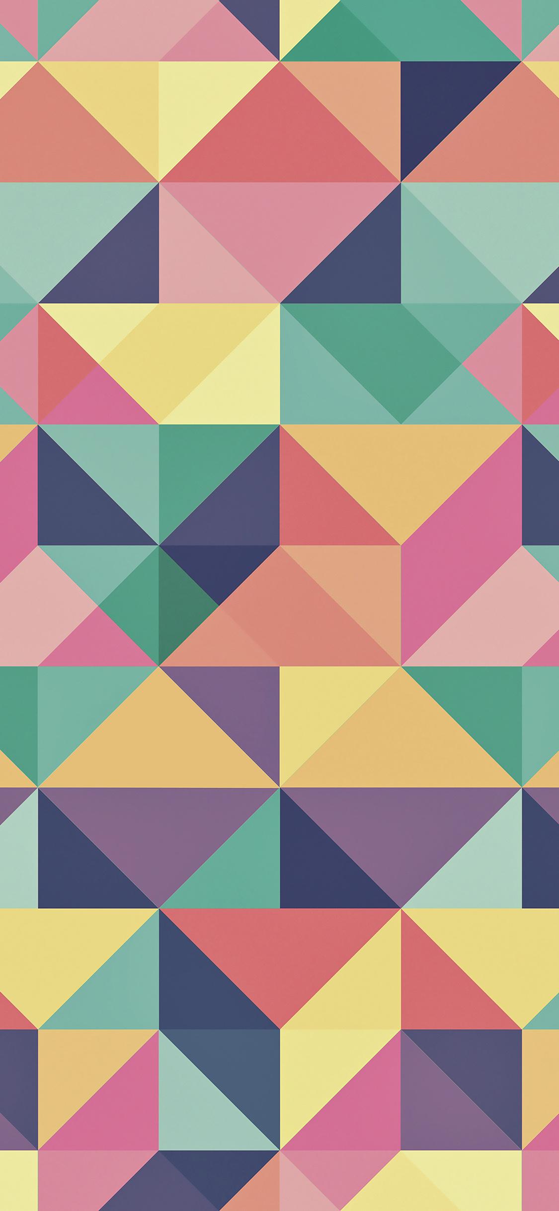 iPhoneXpapers.com-Apple-iPhone-wallpaper-vp25-abstract-polygon-art-pattern-rainbow