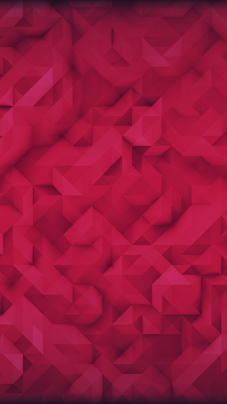 iPhone7papers.com-Apple-iPhone7-iphone7plus-wallpaper-vp35-polygon-art-red-triangle-pattern