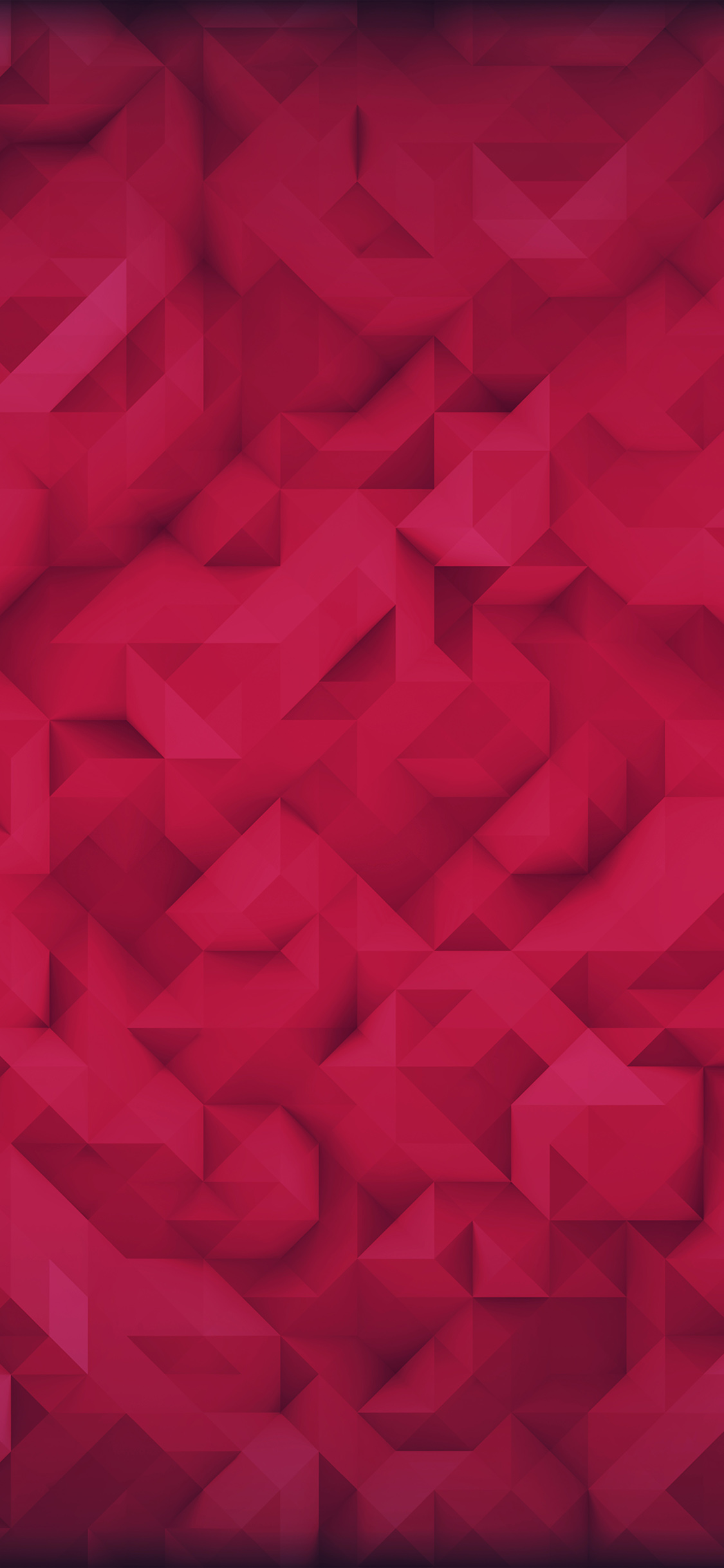 iPhoneXpapers.com-Apple-iPhone-wallpaper-vp35-polygon-art-red-triangle-pattern