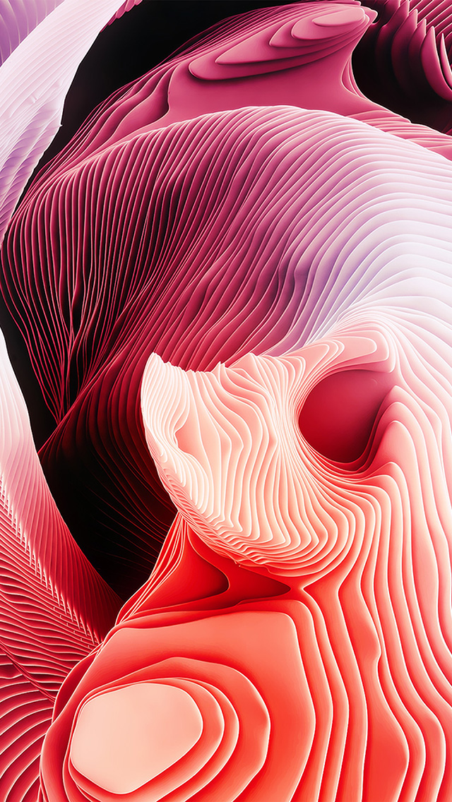 freeios8.com-iphone-4-5-6-plus-ipad-ios8-vp84-curves-layer-red-abstract-pattern