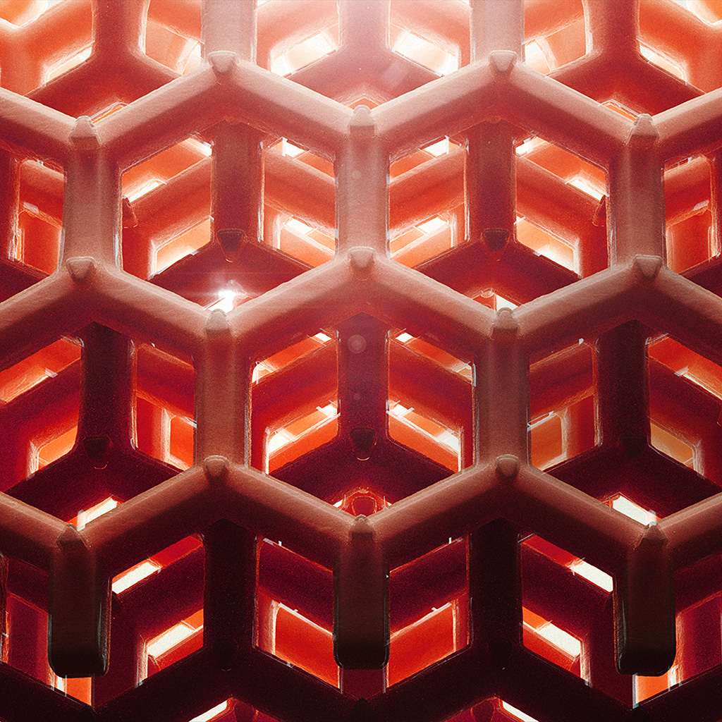 wallpaper-vp89-honey-cube-pattern-comb-red-wallpaper