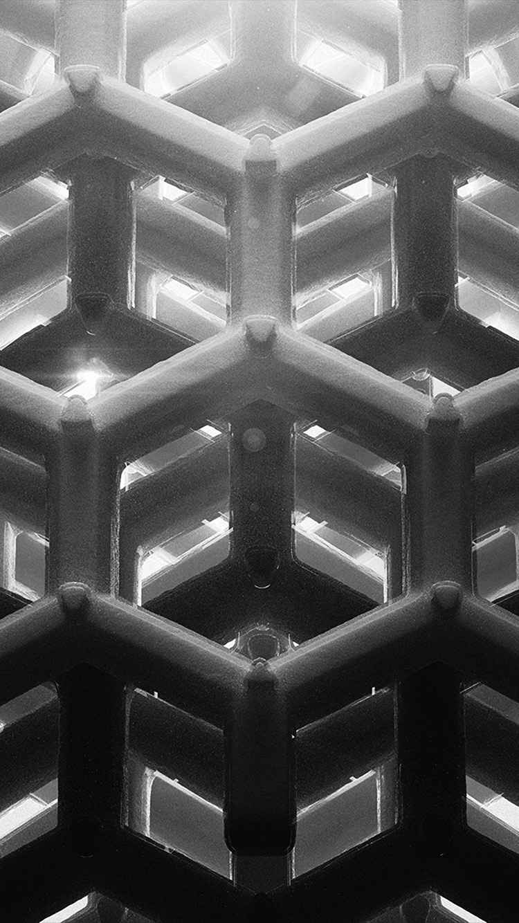 iPhonepapers.com-Apple-iPhone-wallpaper-vp91honey-cube-pattern-comb-dark-bw