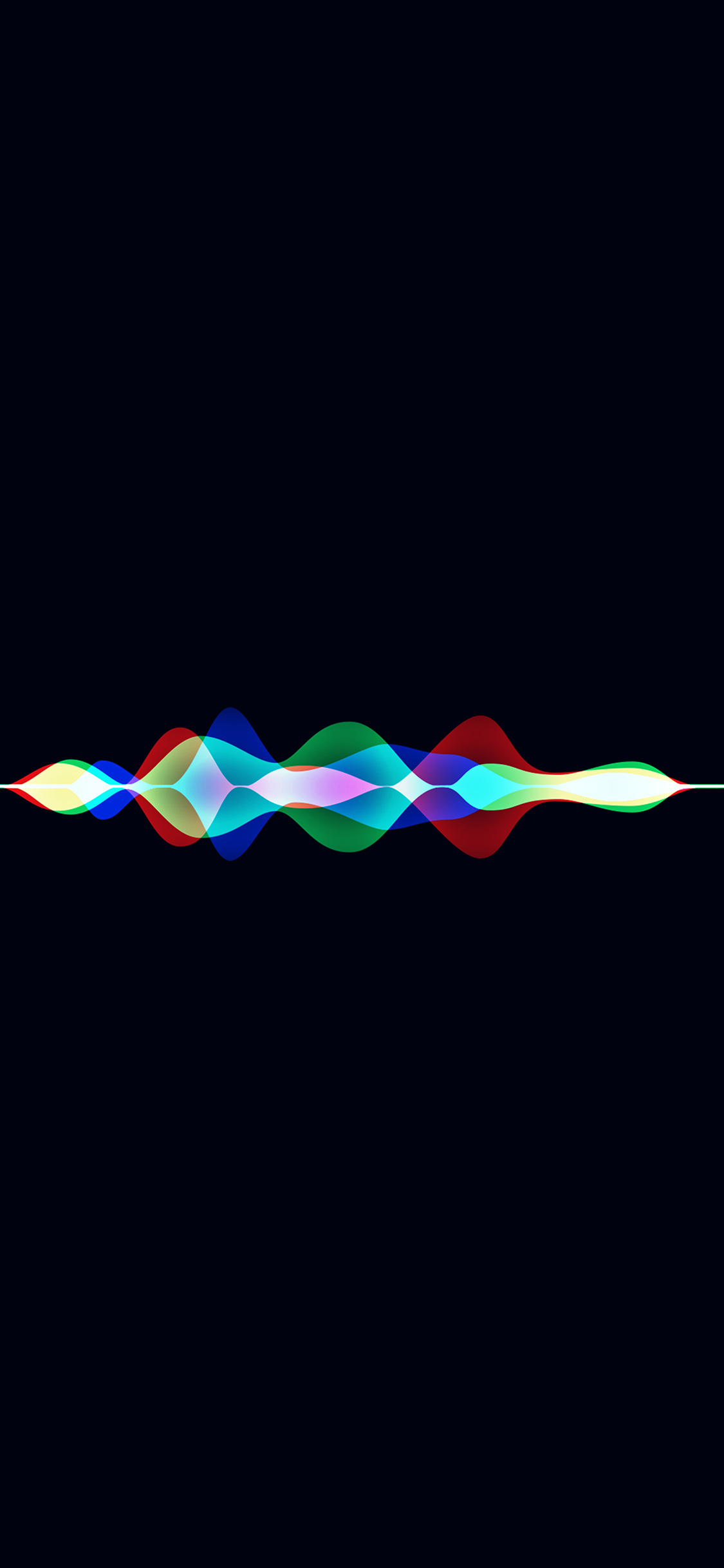 Iphonexpapers Com Iphone X Wallpaper Vq05 Siri Dark Rainbow