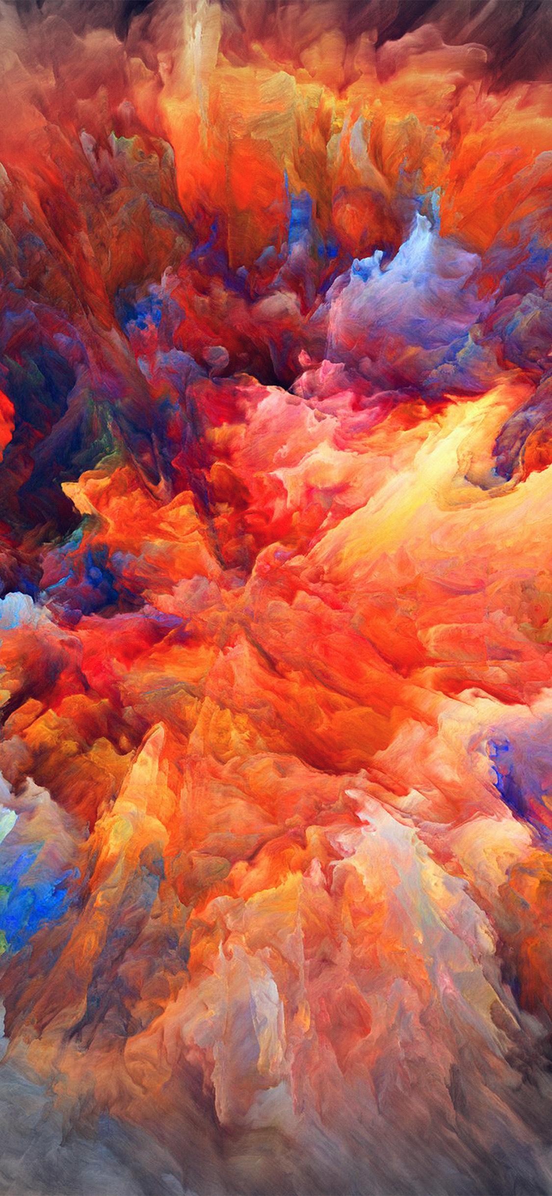 Car Paint Colors >> vq22-color-explosion-red-paint-pattern-soft-wallpaper