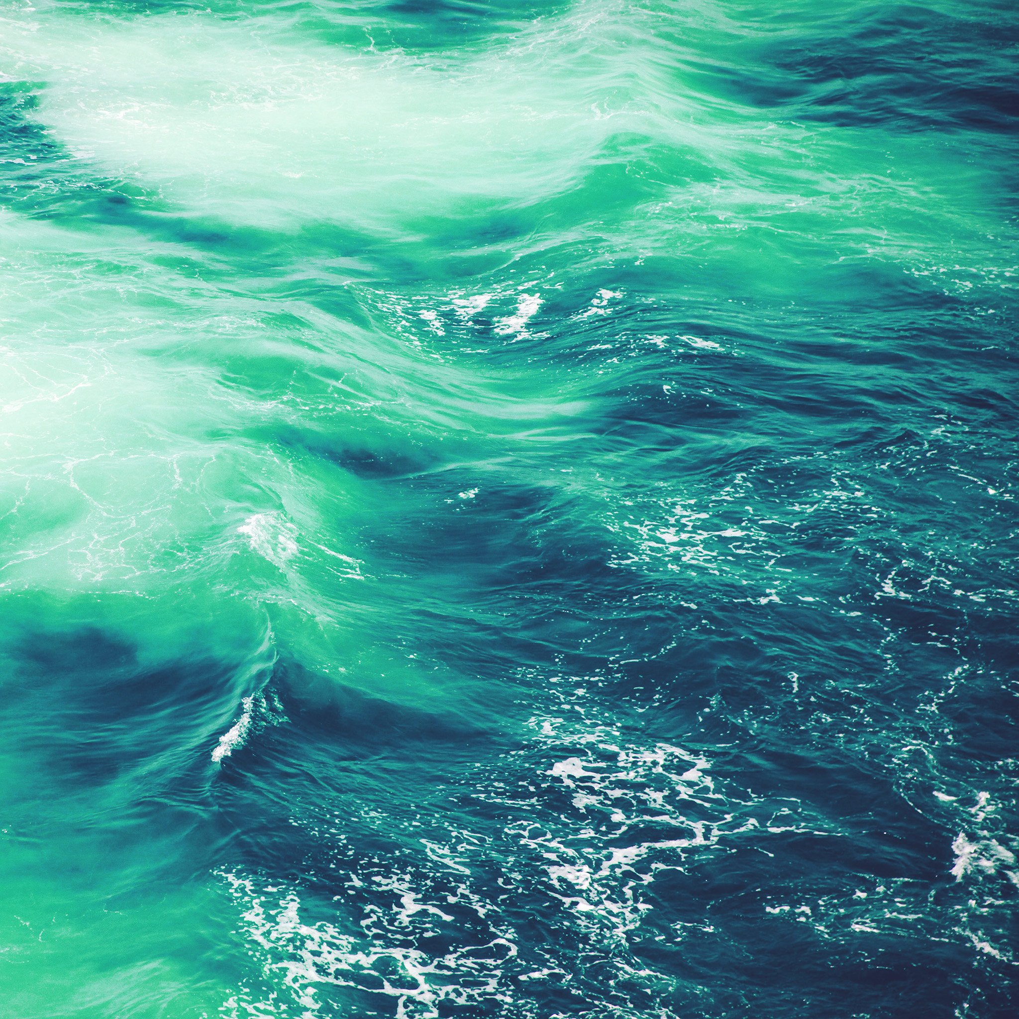 Green Desktop Wallpaper: Vq24-wave-nature-water-blue-green-sea-ocean-pattern-wallpaper