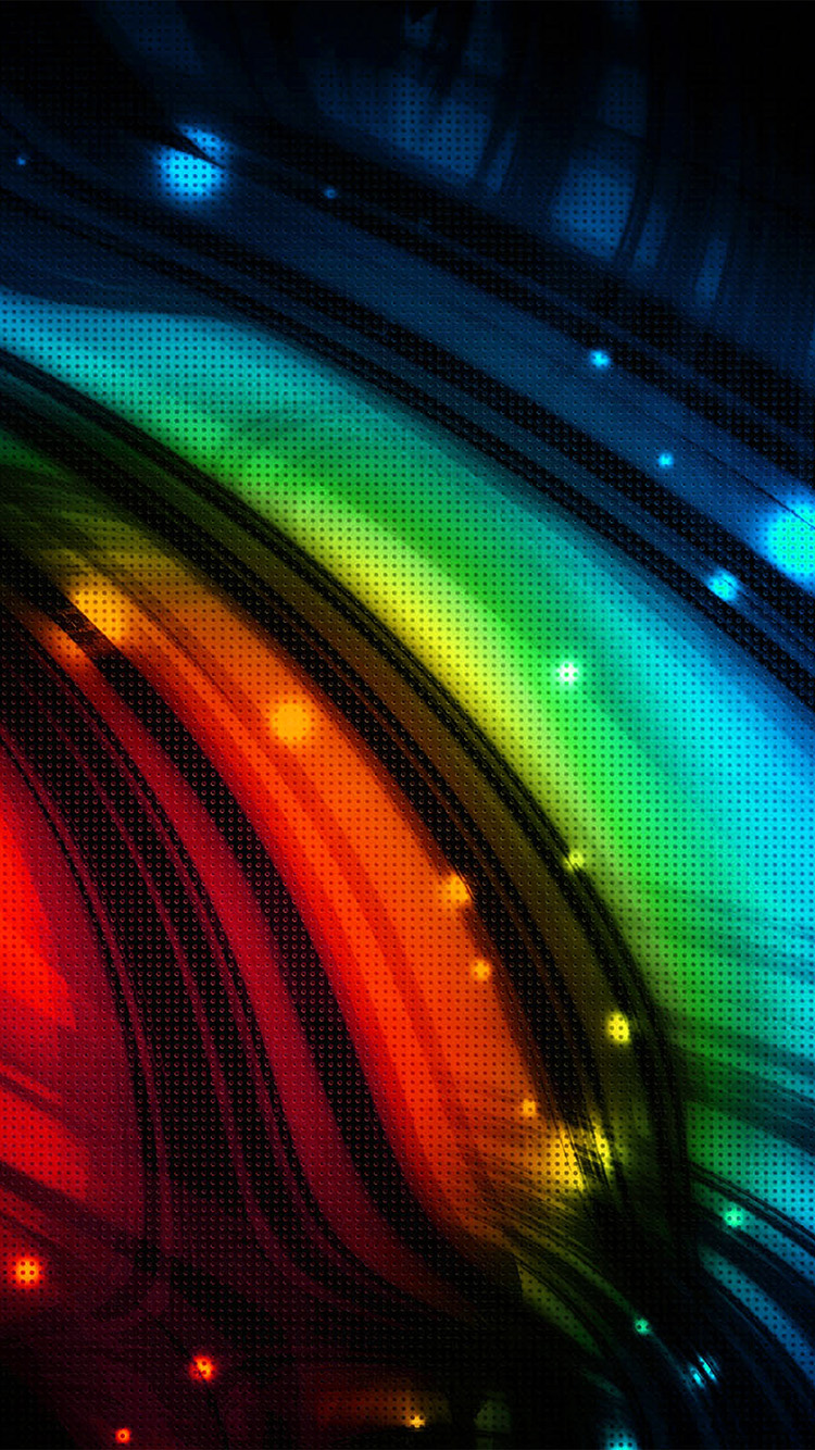 iPhone6papers.co-Apple-iPhone-6-iphone6-plus-wallpaper-vq54-dots-art-rainbow-pattern-red