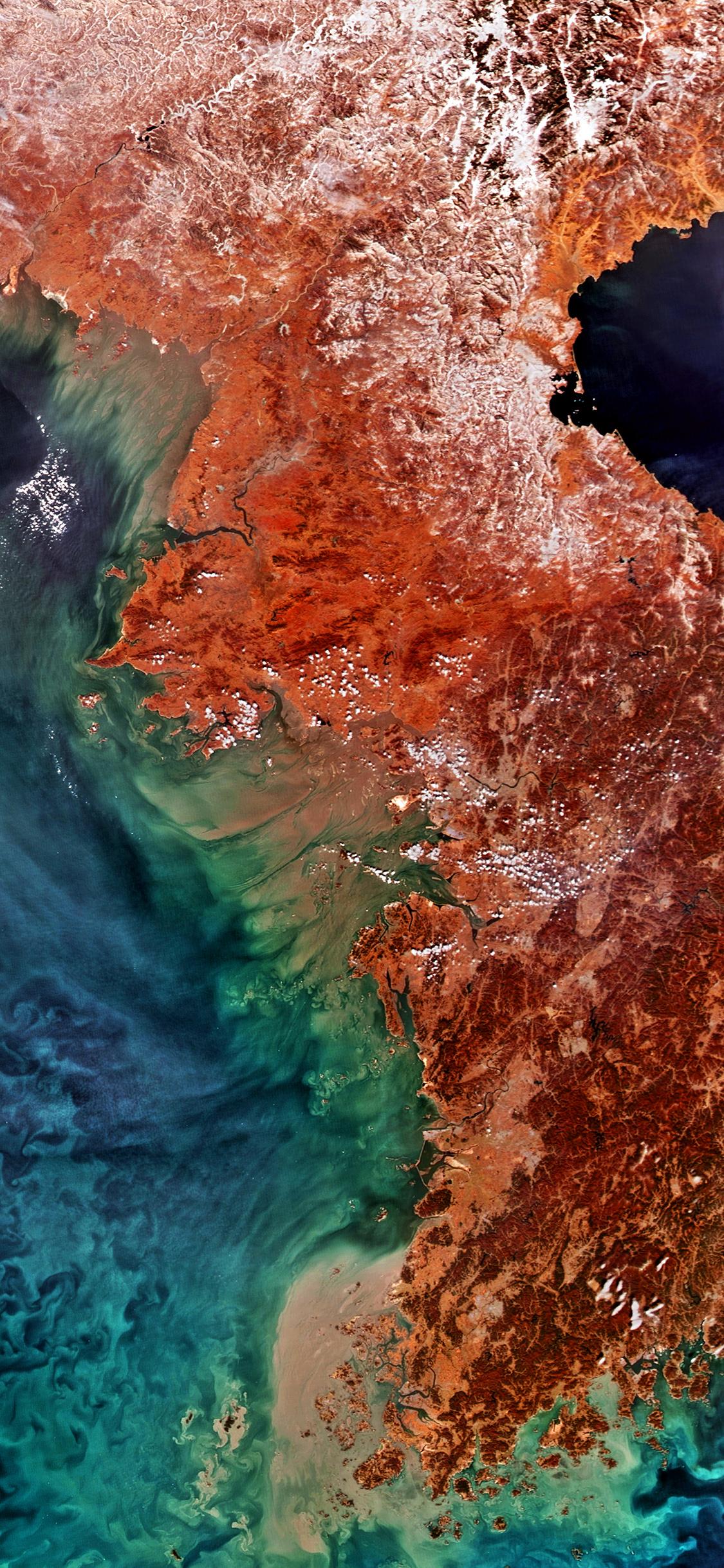 vq71-yellow-sea-korea-corea-red-earthview-pattern-wallpaper
