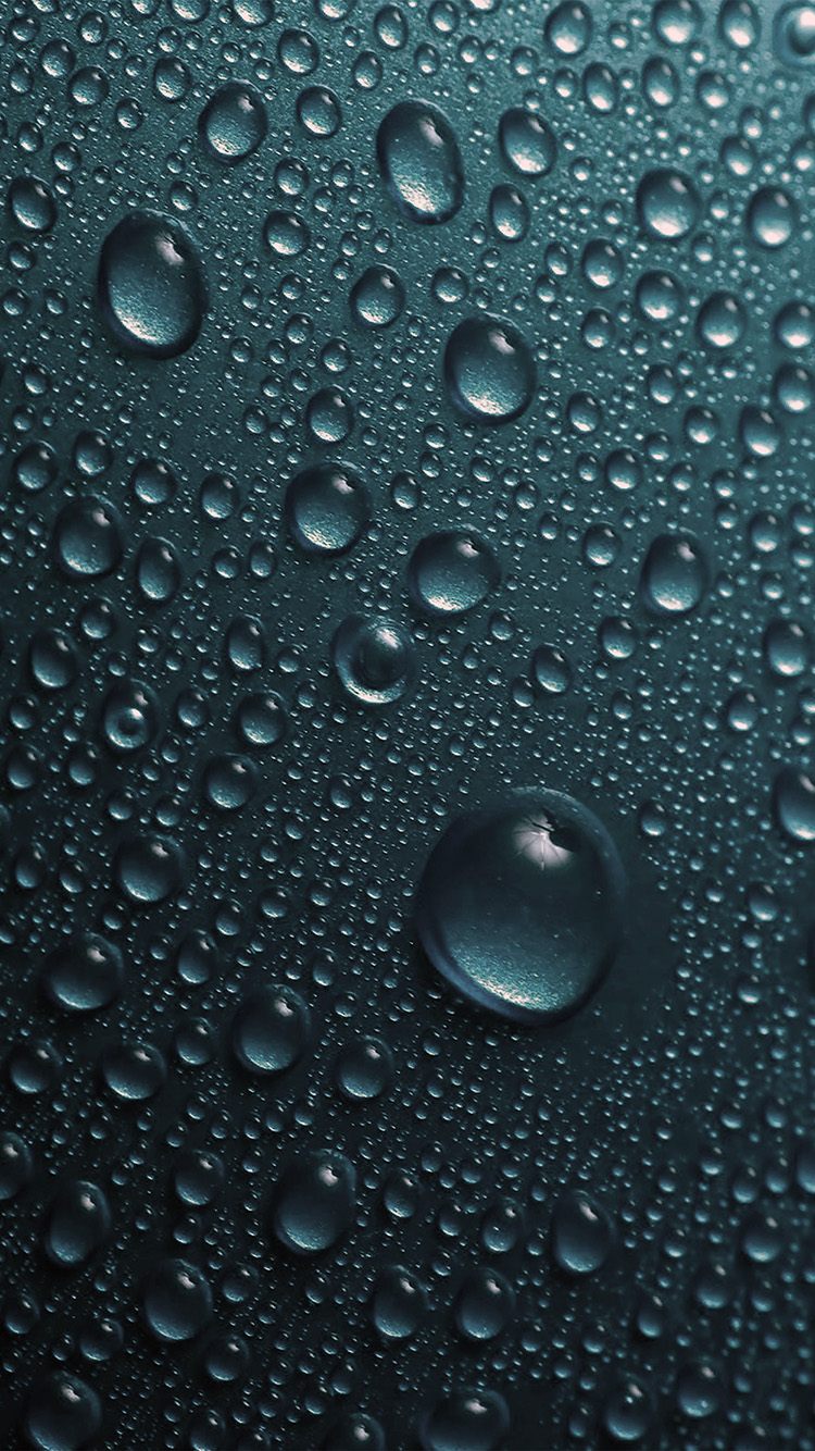 Freeios8 Com Iphone Wallpaper Vr32 Rain Drop Blue Water