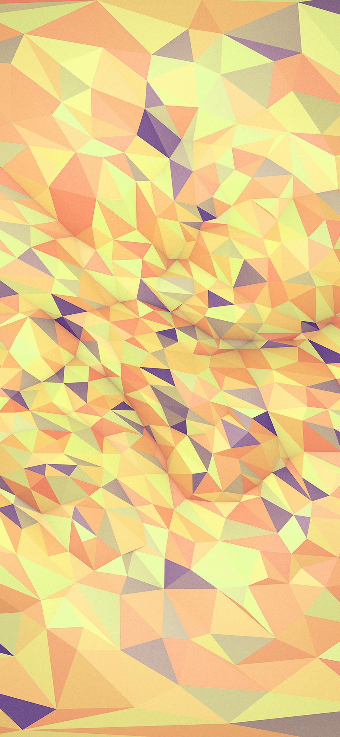 iPhonexpapers.com-Apple-iPhone-wallpaper-vr58-metaphysics-hampus-olsson-art-orange-yellow-polygon-pattern