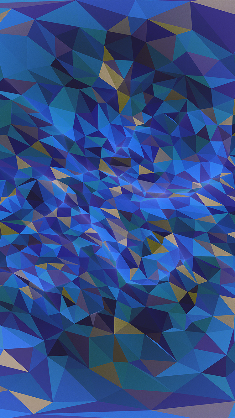 iPhone7papers.com-Apple-iPhone7-iphone7plus-wallpaper-vr59-metaphysics-hampus-olsson-art-dark-blue-polygon-pattern