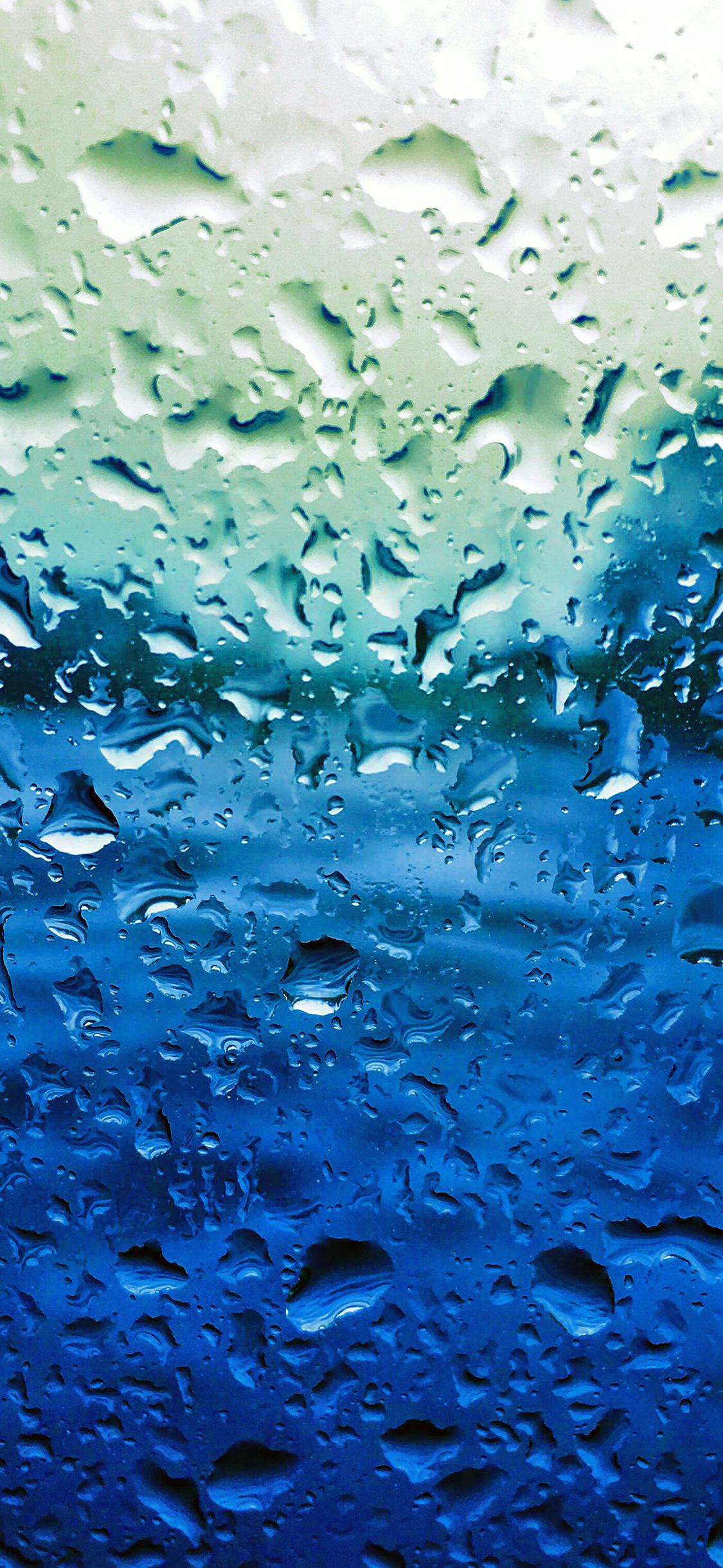 iPhonexpapers.com-Apple-iPhone-wallpaper-vr69-rain-drop-window-blue-sad-pattern