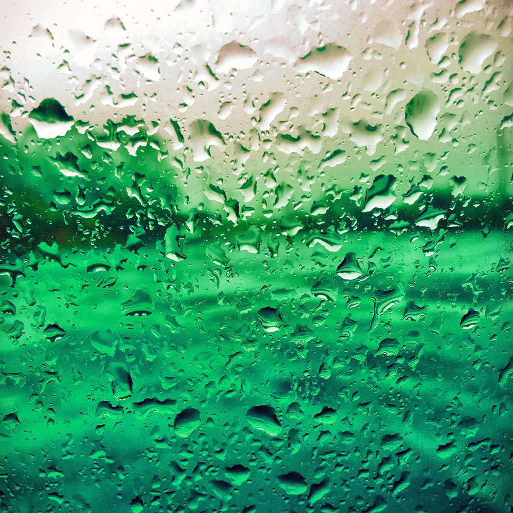 wallpaper-vr71-rain-drop-window-green-pattern-wallpaper
