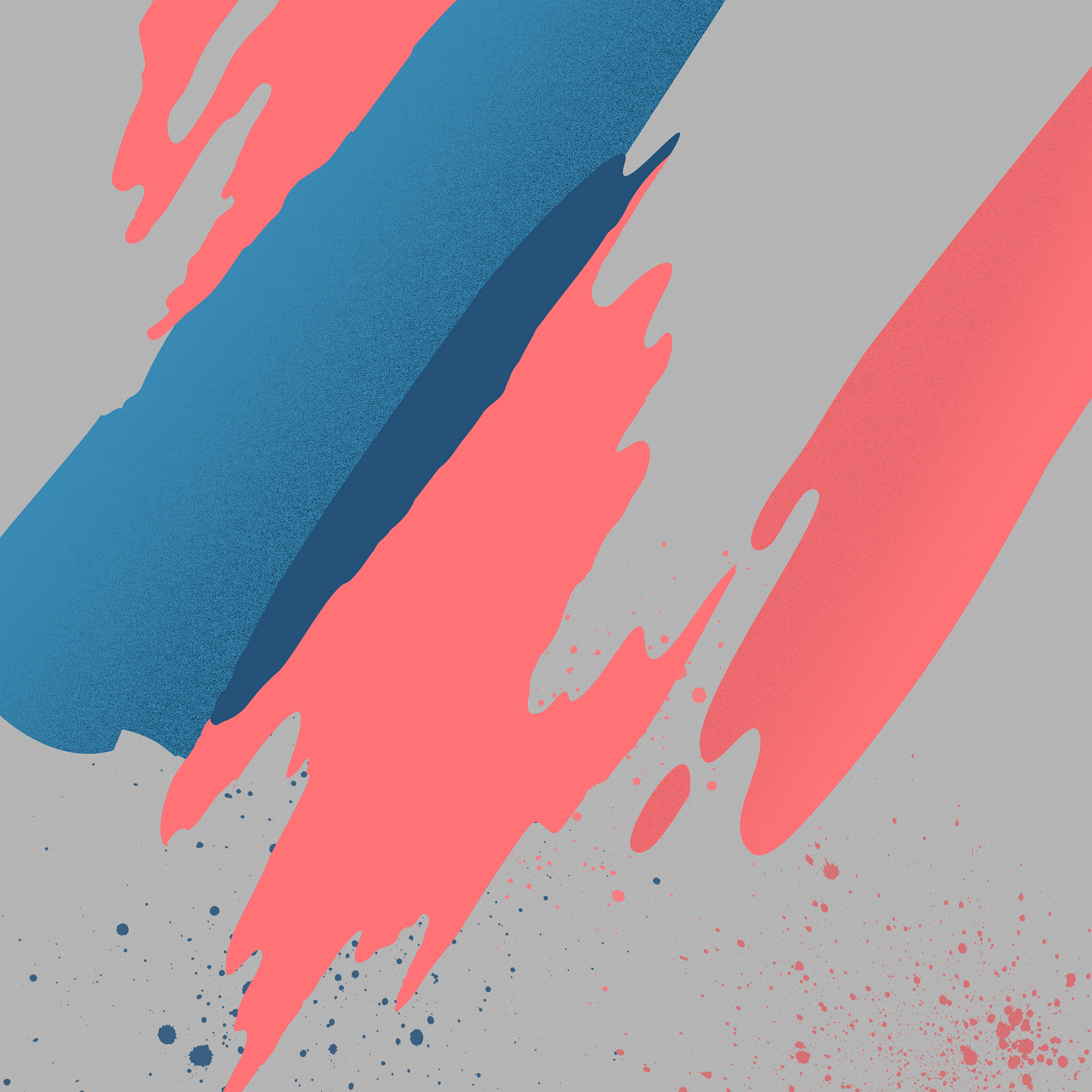 Vs20 Paint Abstract Background Htc Pink Blue Pattern Wallpaper
