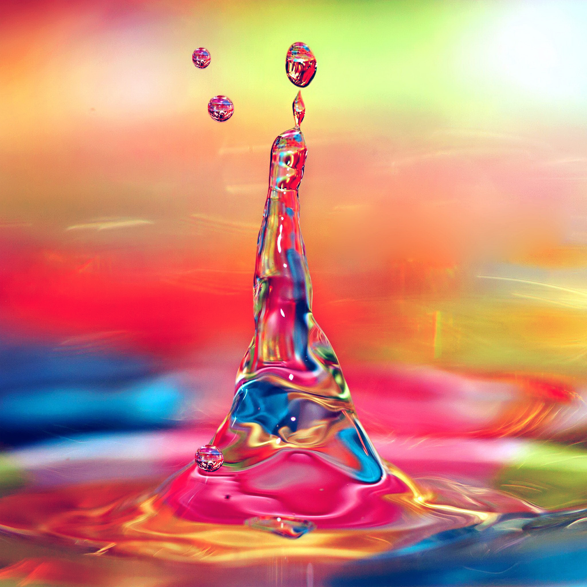 Colorful Iphone Wallpaper: Vs35-waterdrop-color