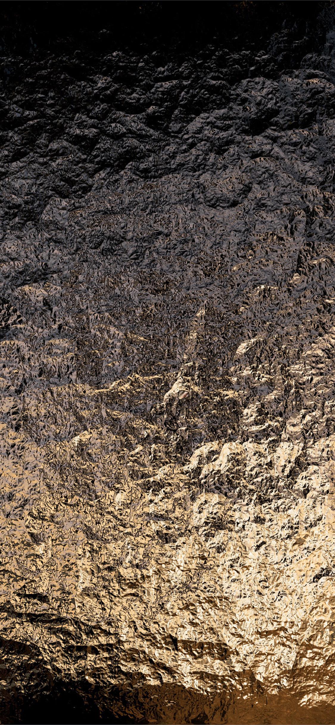 Vs52 Texture Foil Metal Light Dark Pattern Wallpaper