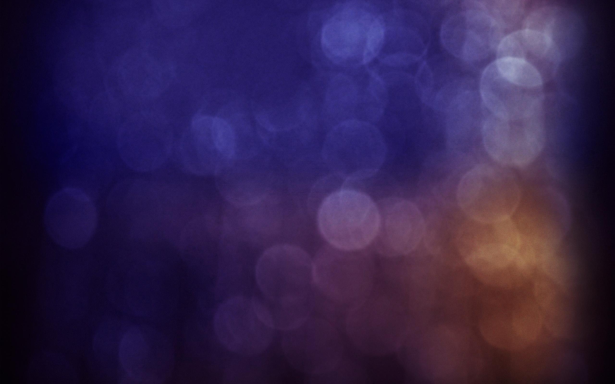 Vs56 Bokeh Blue Purple Dark Night Pattern Circle Wallpaper