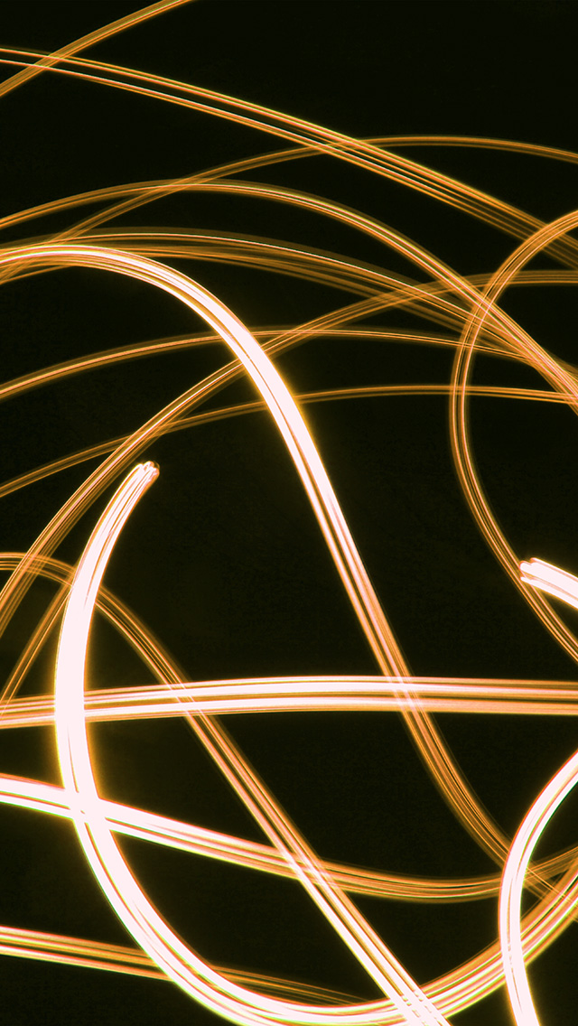 freeios8.com-iphone-4-5-6-plus-ipad-ios8-vs63-curve-line-abstract-dark-gold-pattern-light