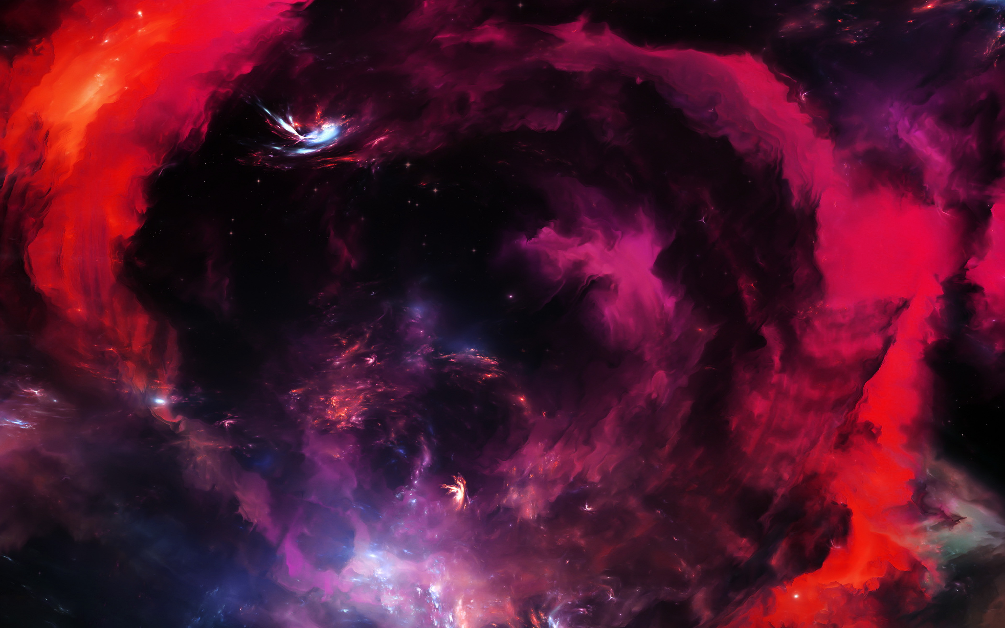 Wallpaper Horsehead Nebula red HD Space Wallpaper Download High