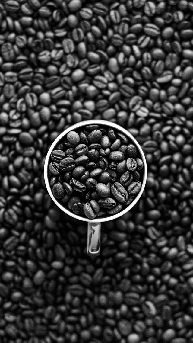 freeios8.com-iphone-4-5-6-plus-ipad-ios8-vt01-coffee-bokeh-pattern-bw-dark