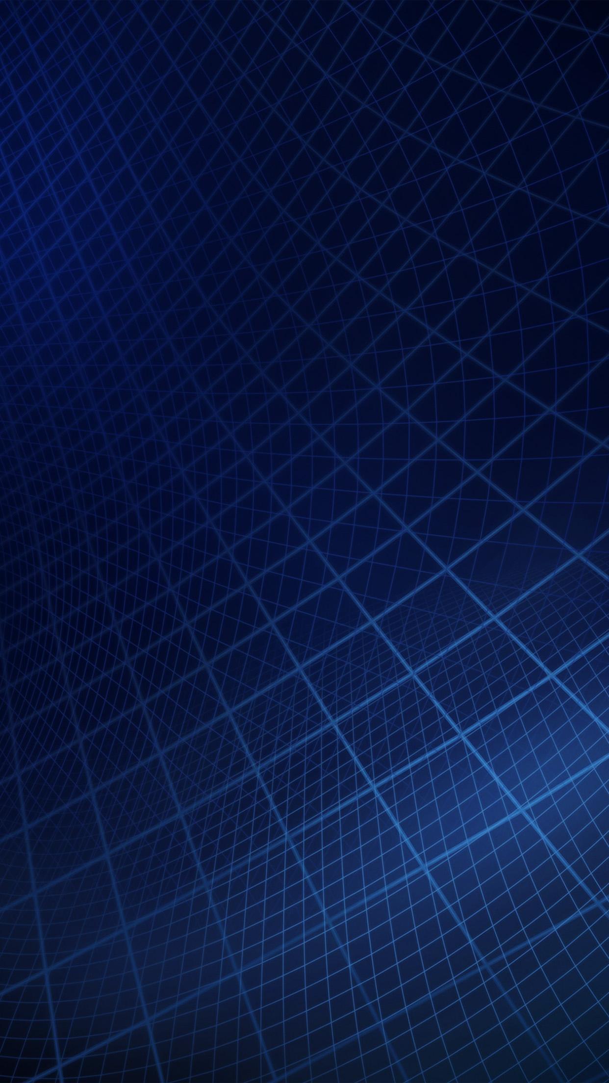Vt16 Abstract Line Digital Dark Blue Pattern Wallpaper
