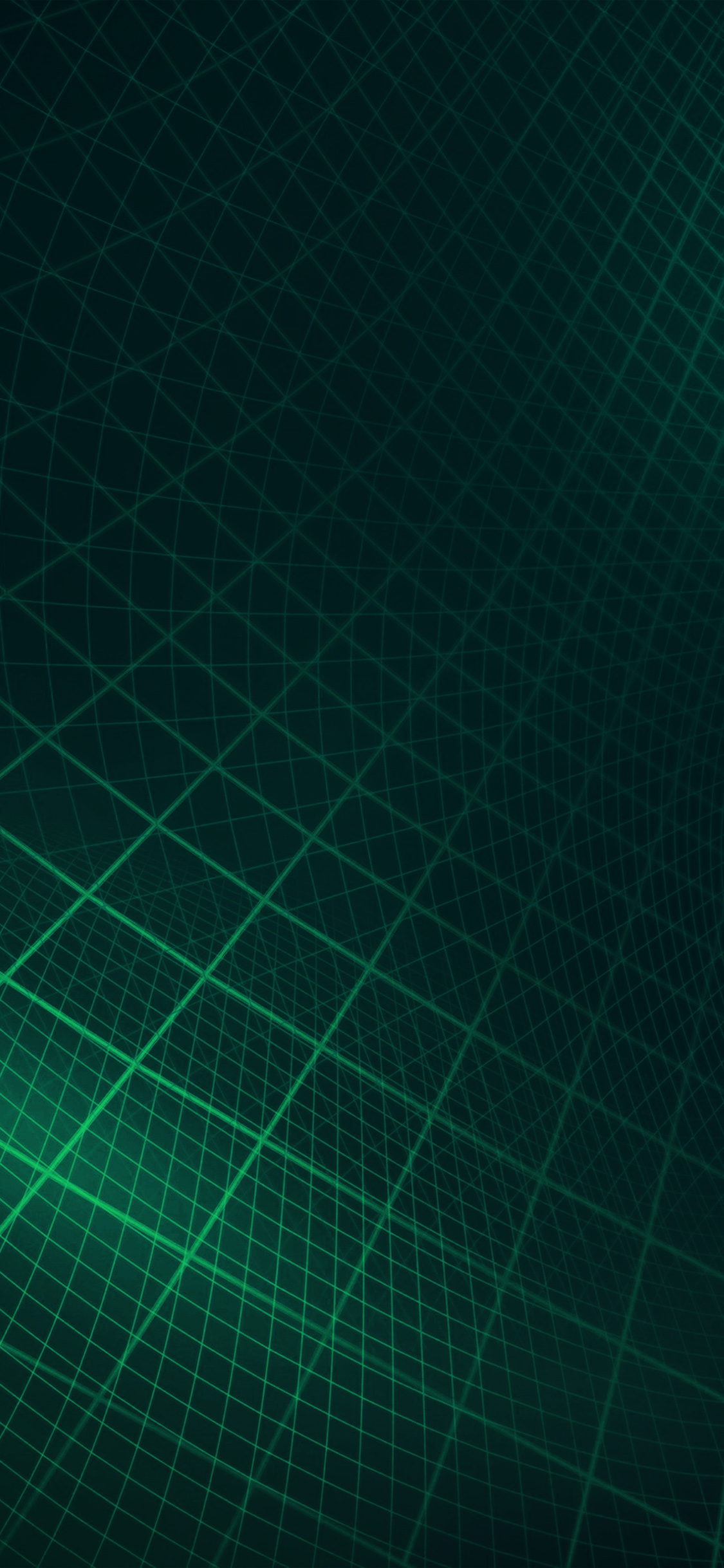 Iphone11papers Com Iphone11 Wallpaper Vt17 Abstract Line Digital Dark Green Pattern