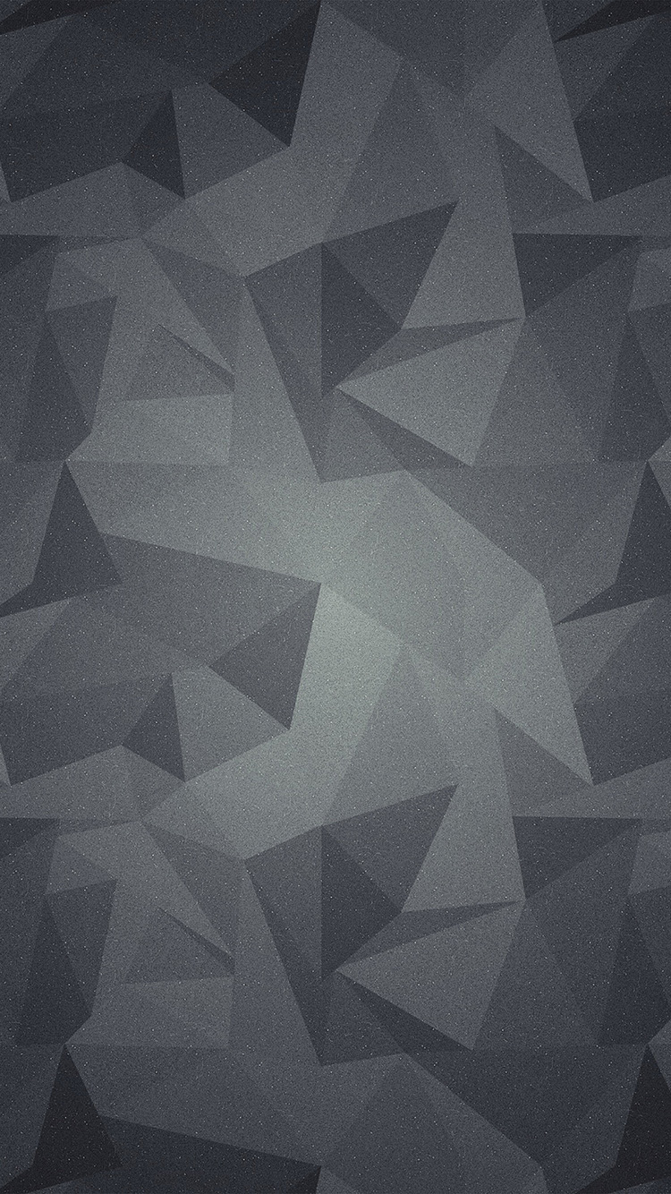 I Love Papers Vt28 Abstract Polygon Dark Bw Pattern