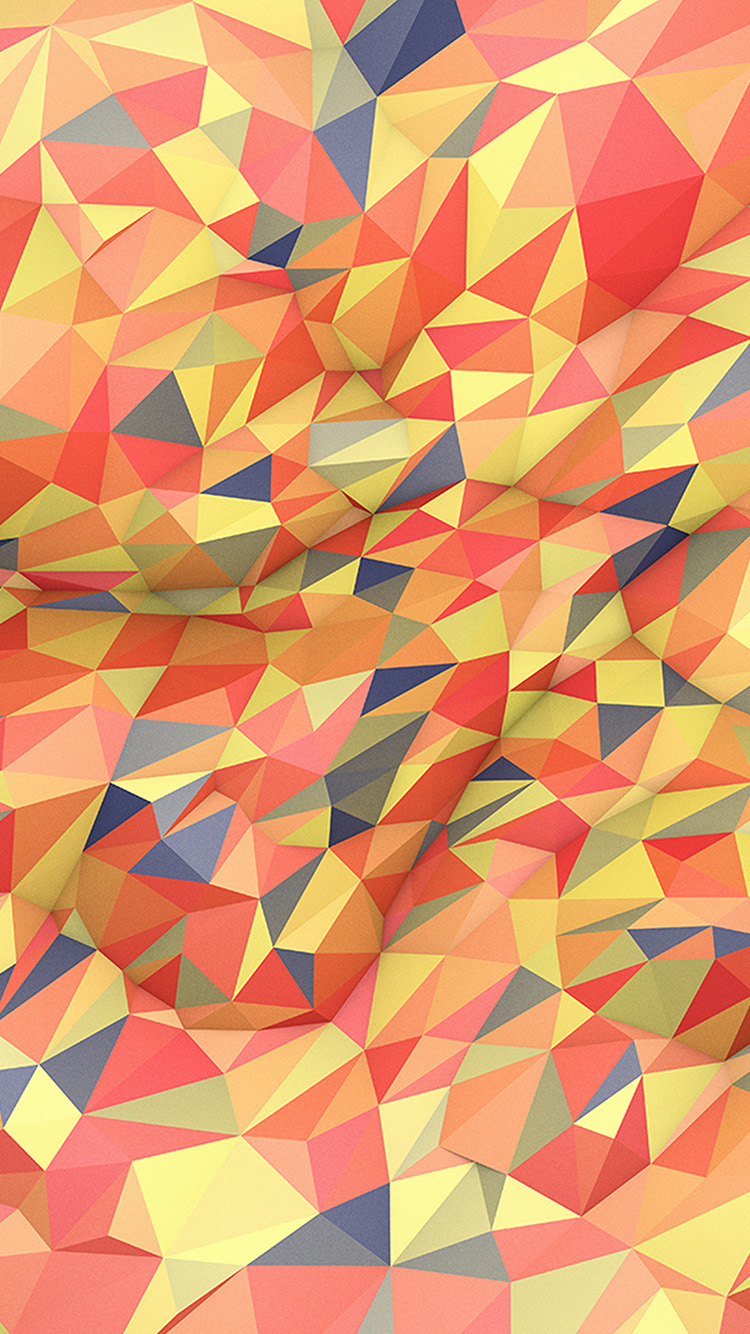 iPhone6papers.co-Apple-iPhone-6-iphone6-plus-wallpaper-vt41-abstract-red-yellow-polyart-pattern