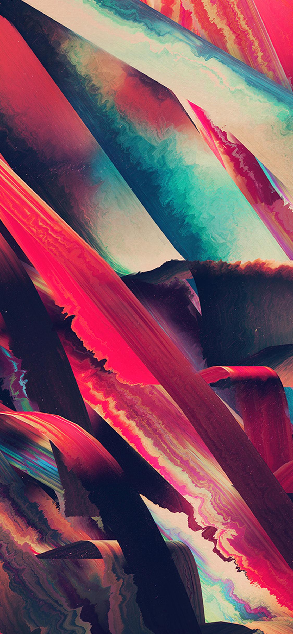 iPhonexpapers.com-Apple-iPhone-wallpaper-vt45-art-paint-hampus-olsson-pattern-red-dark-abstract-blue