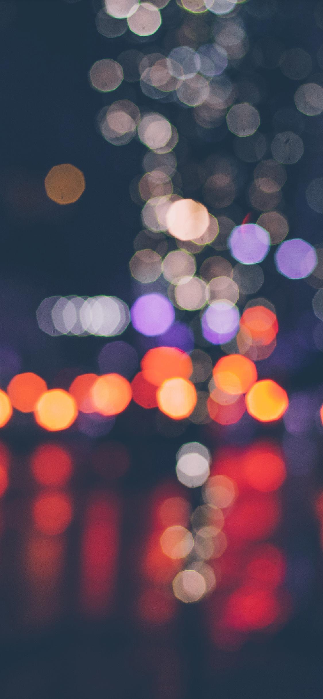Vt55 Night Bokeh Art Dark Red Light