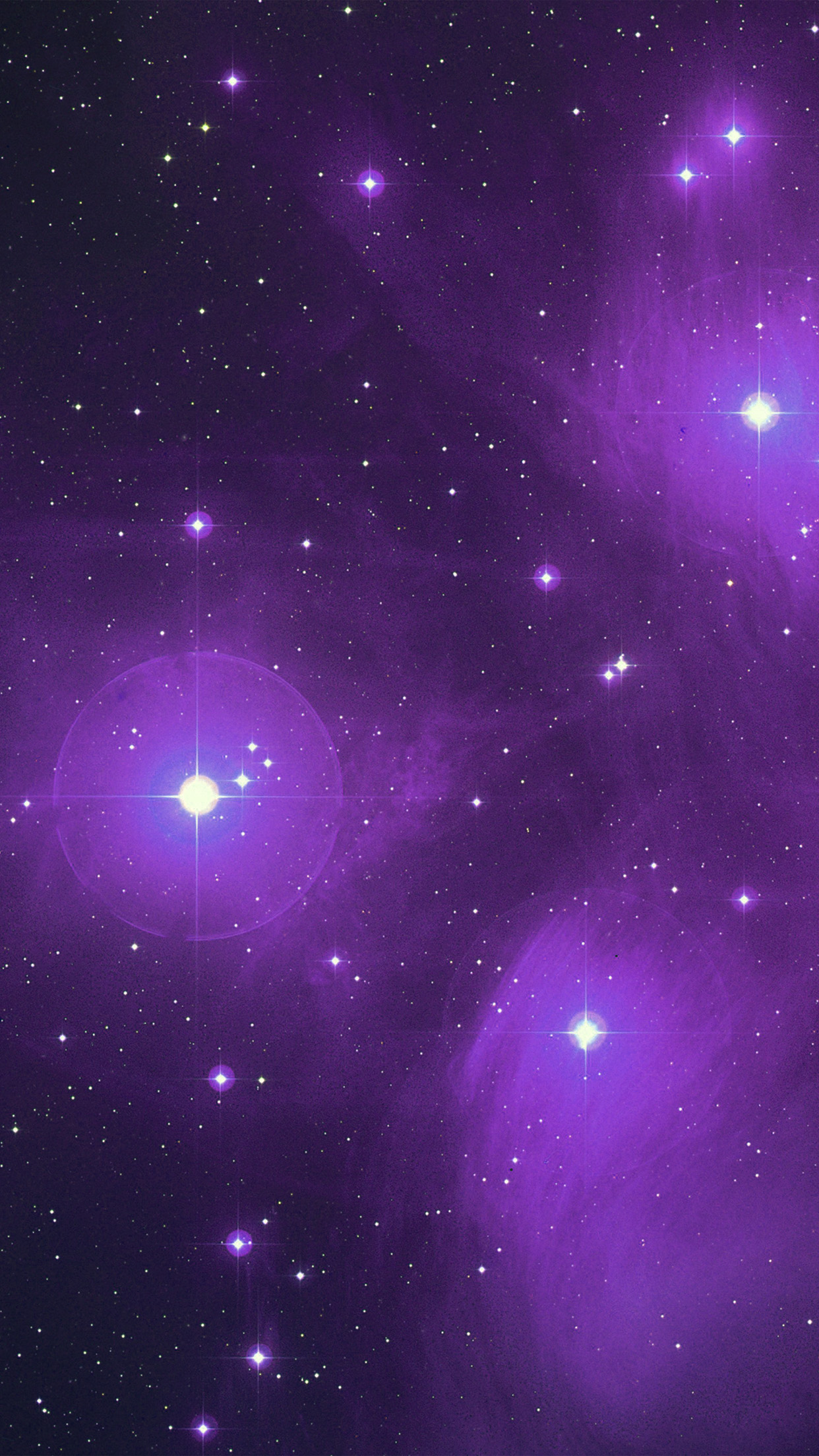 Vt70 Space Dark Star Purple Pattern Wallpaper