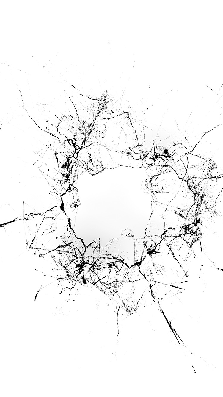 Papers.co-iPhone5-iphone6-plus-wallpaper-vu20-crack-glass-white-bw-texture-pattern