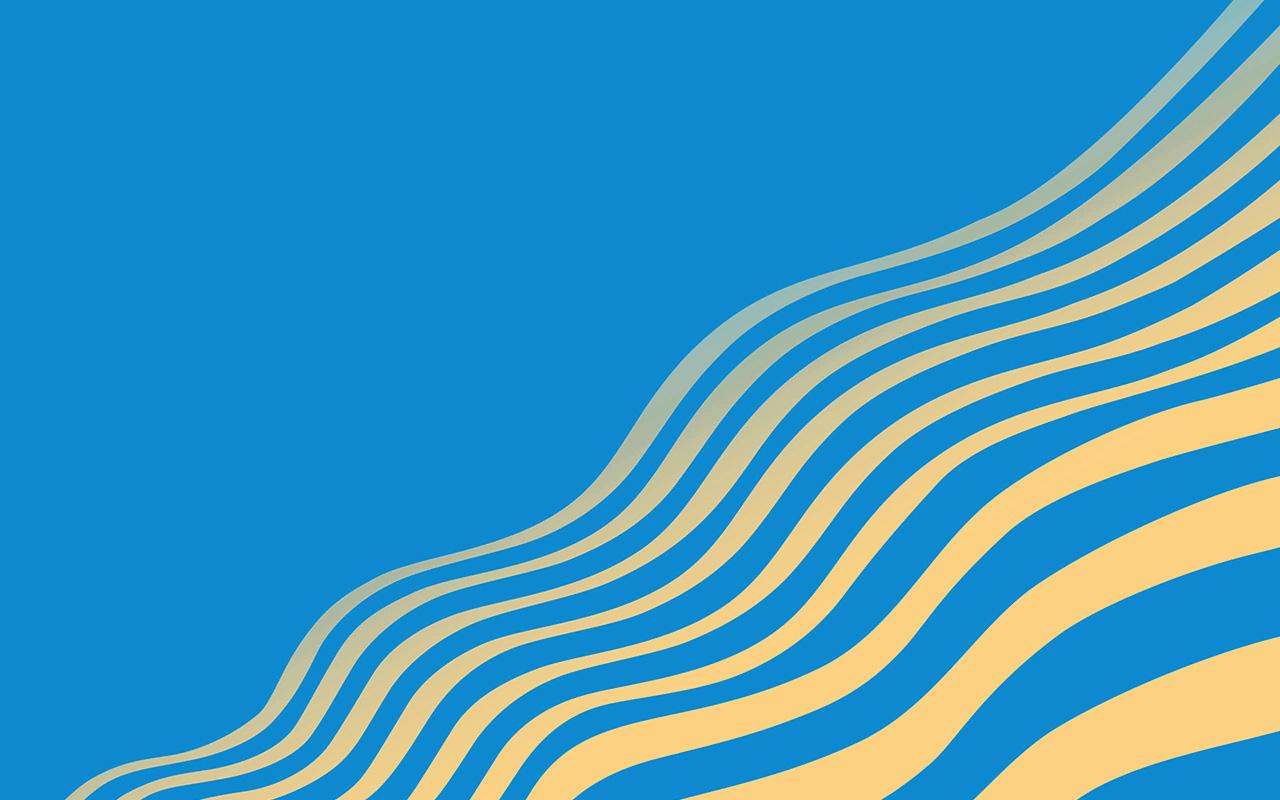 vu23 line simple minimal curve pattern blue wallpaper