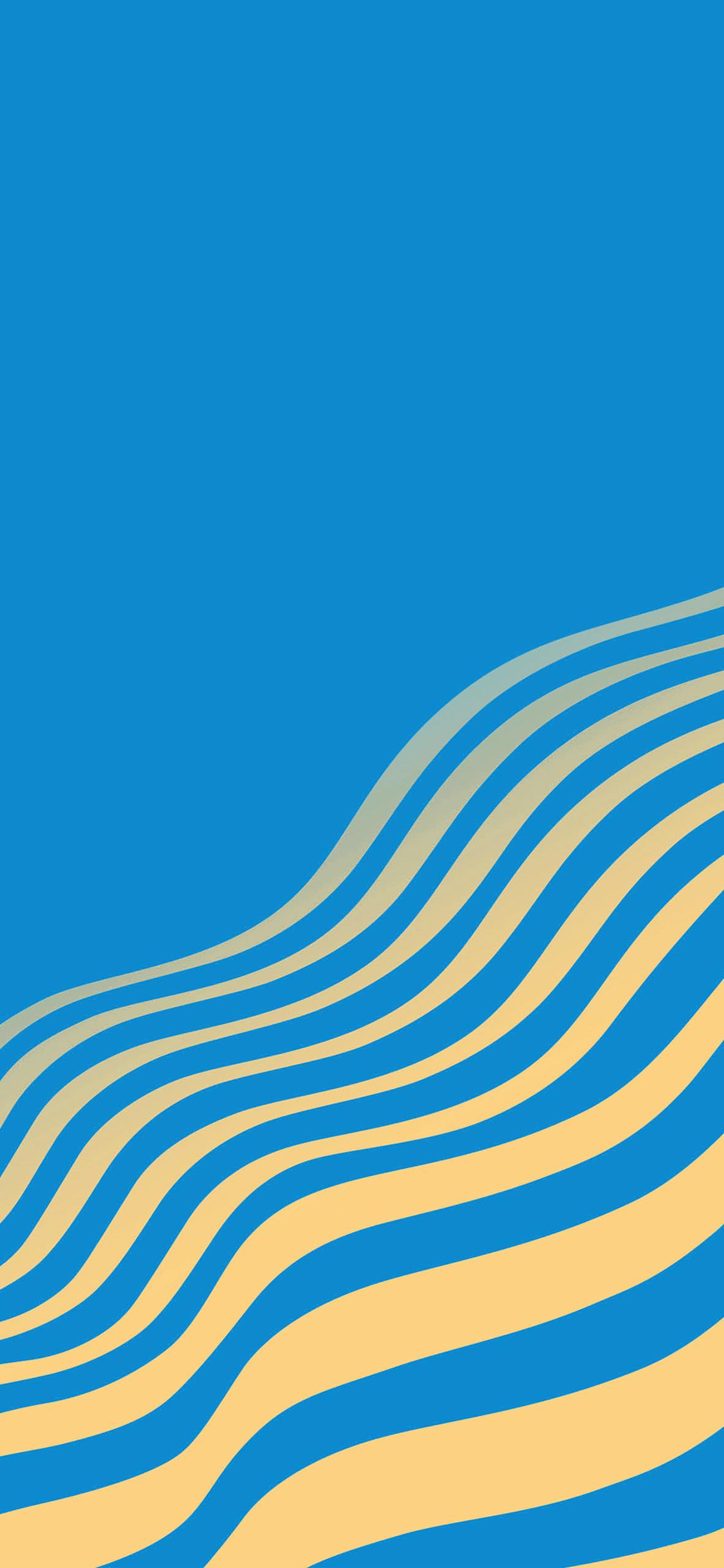 iPhonexpapers.com-Apple-iPhone-wallpaper-vu23-line-simple-minimal-curve-pattern-blue