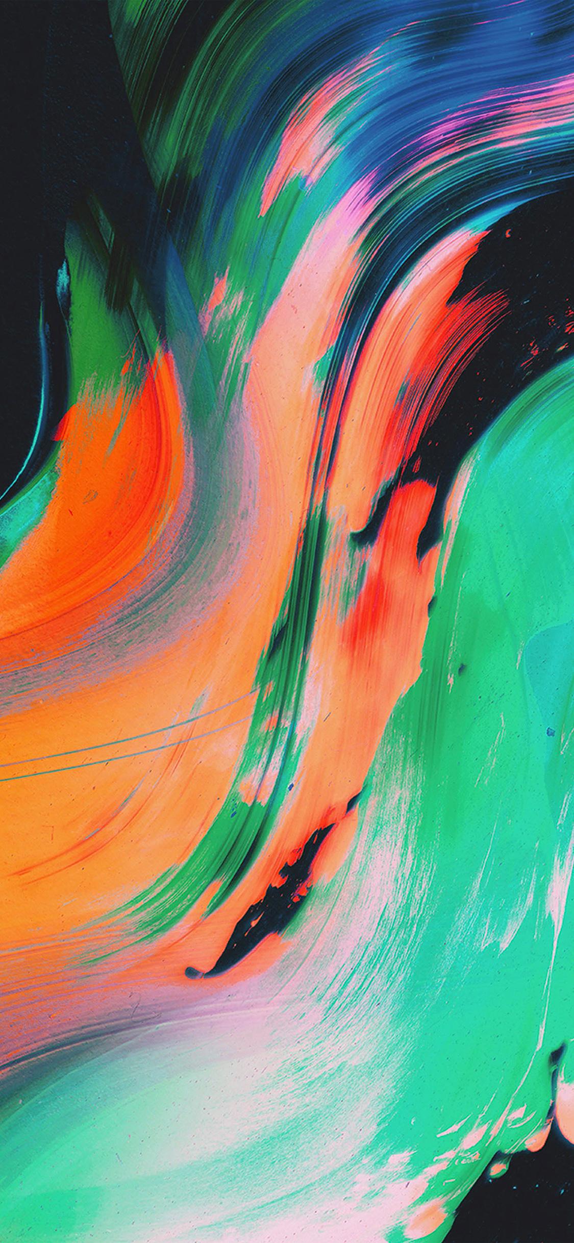 Papers Co Iphone Wallpaper Vu34 Paint Texture Art