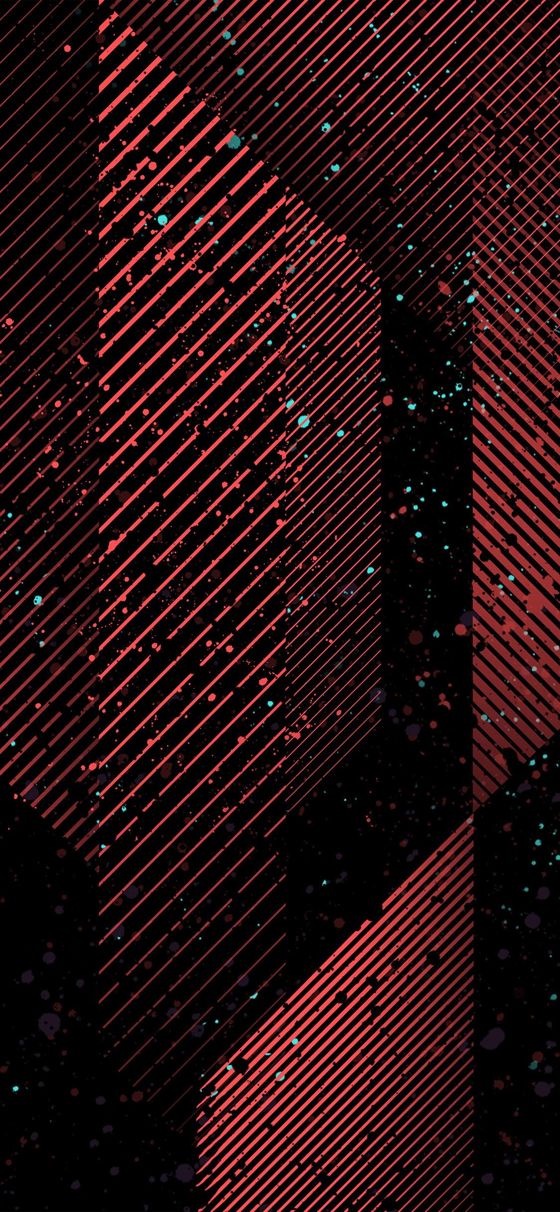 iPhoneXpapers.com-Apple-iPhone-wallpaper-vu36-dark-art-minimal-pattern-red