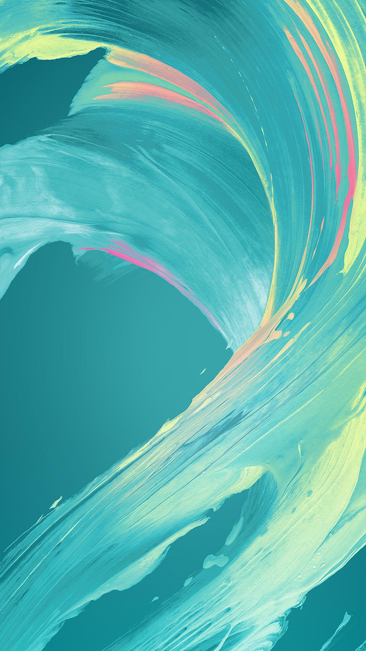 Vu44 Paint Blue Art Xperia Pattern Wallpaper