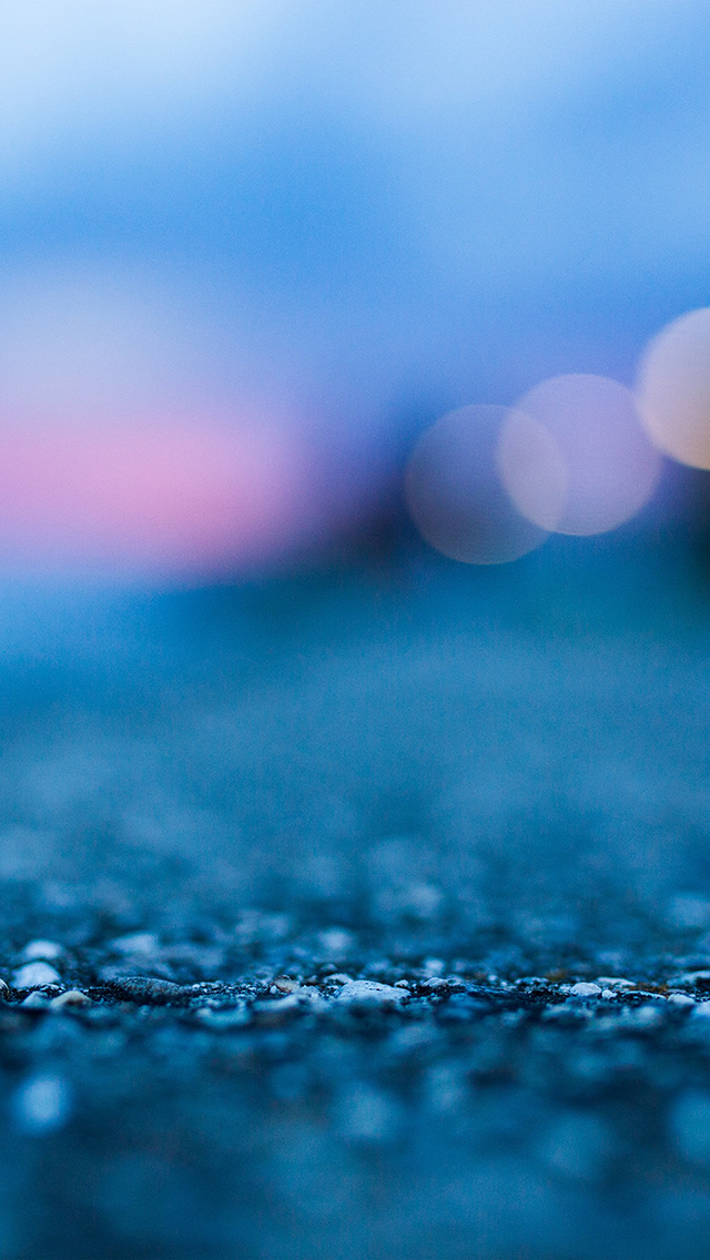 freeios8.com-iphone-4-5-6-plus-ipad-ios8-vu99-bokeh-street-blue-night-light-pattern-background