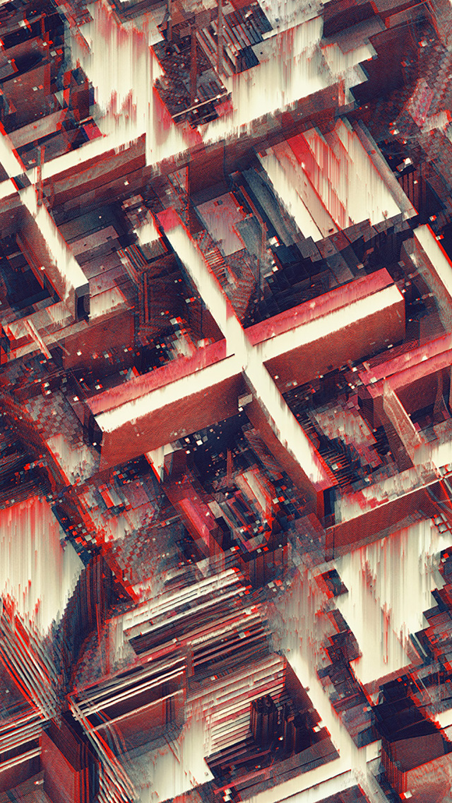 freeios8.com-iphone-4-5-6-plus-ipad-ios8-vv20-abstract-art-line-red-digital-atelier-olschinsky-pattern-background