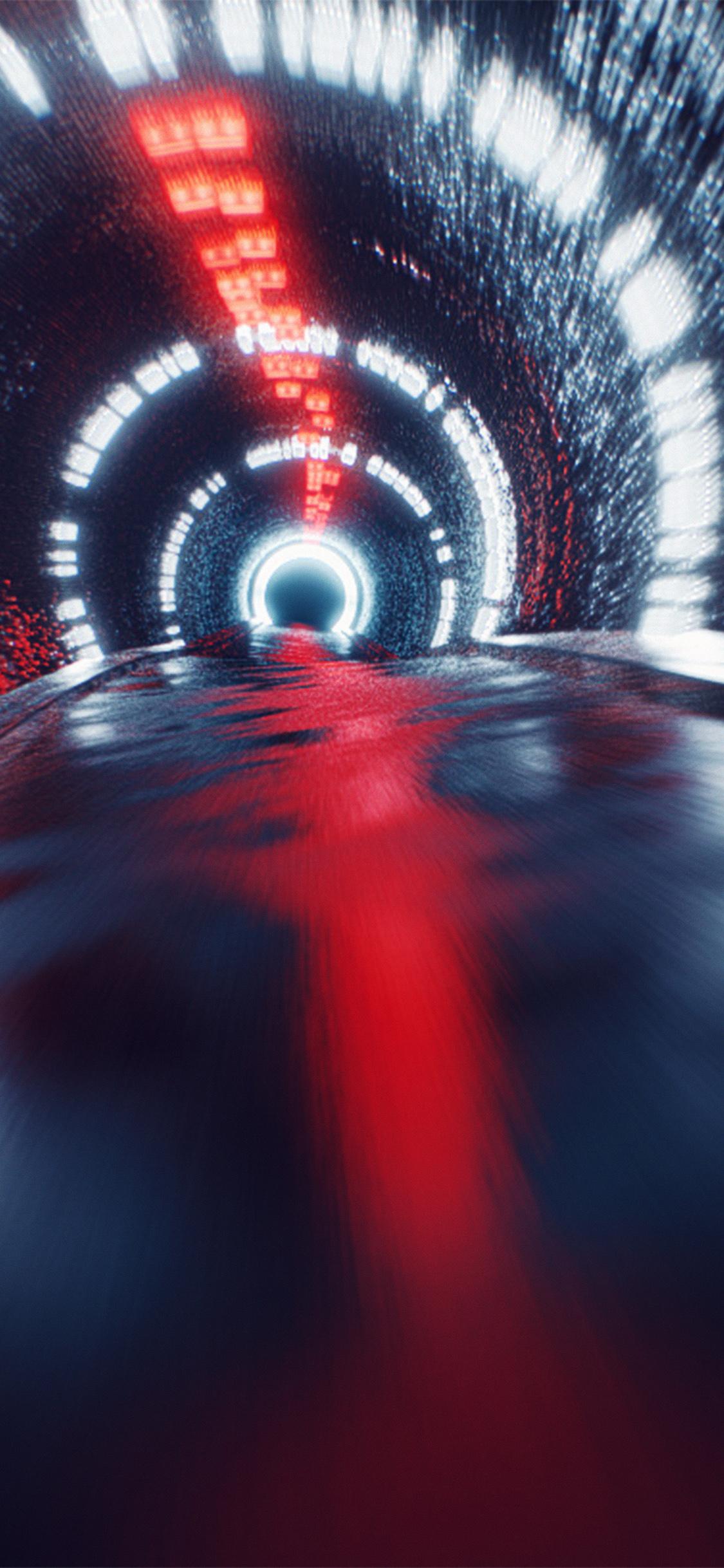 Iphonexpapers Com Iphone X Wallpaper Vv70 Tunnel Car Dark Blue