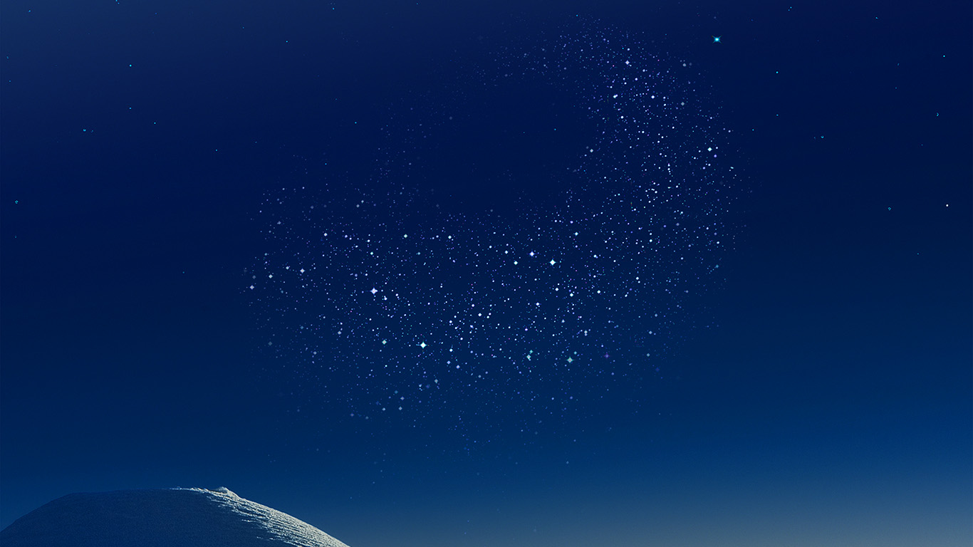 Vw01 Samsung Blue Galaxy S8 Space Pattern Background Wallpaper