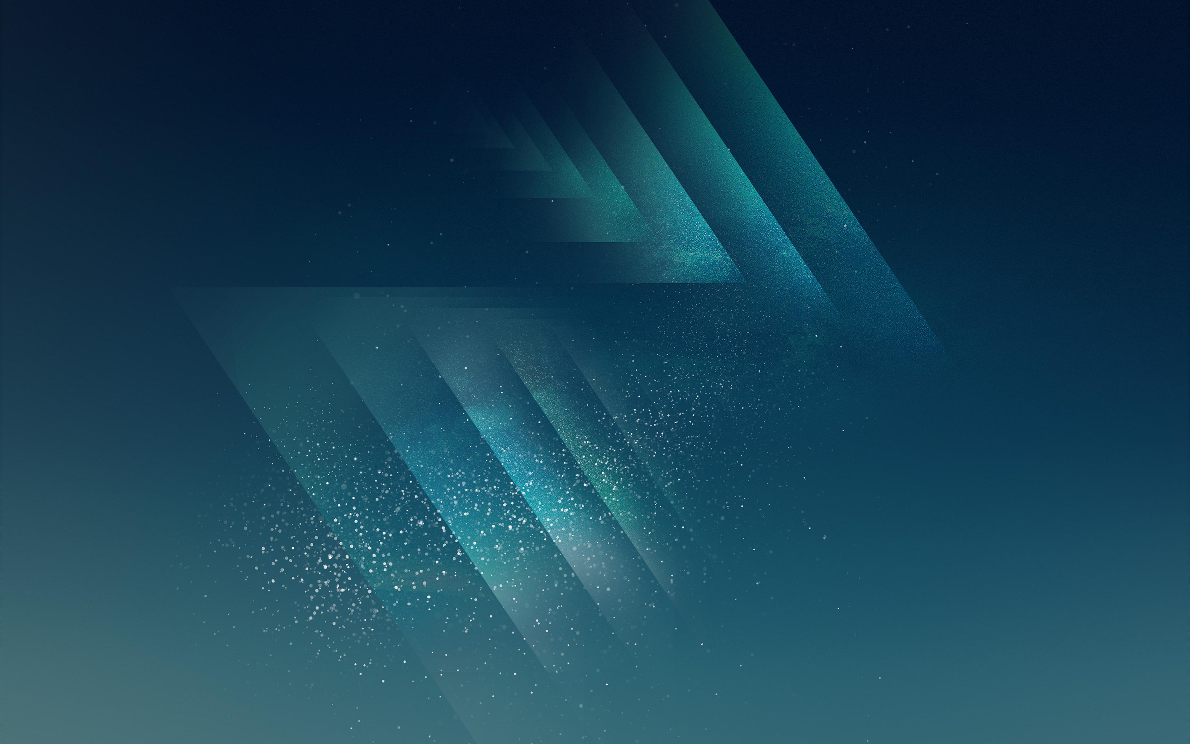Vw08 Galaxy S8 Android Dark Blue Star Pattern Background Wallpaper