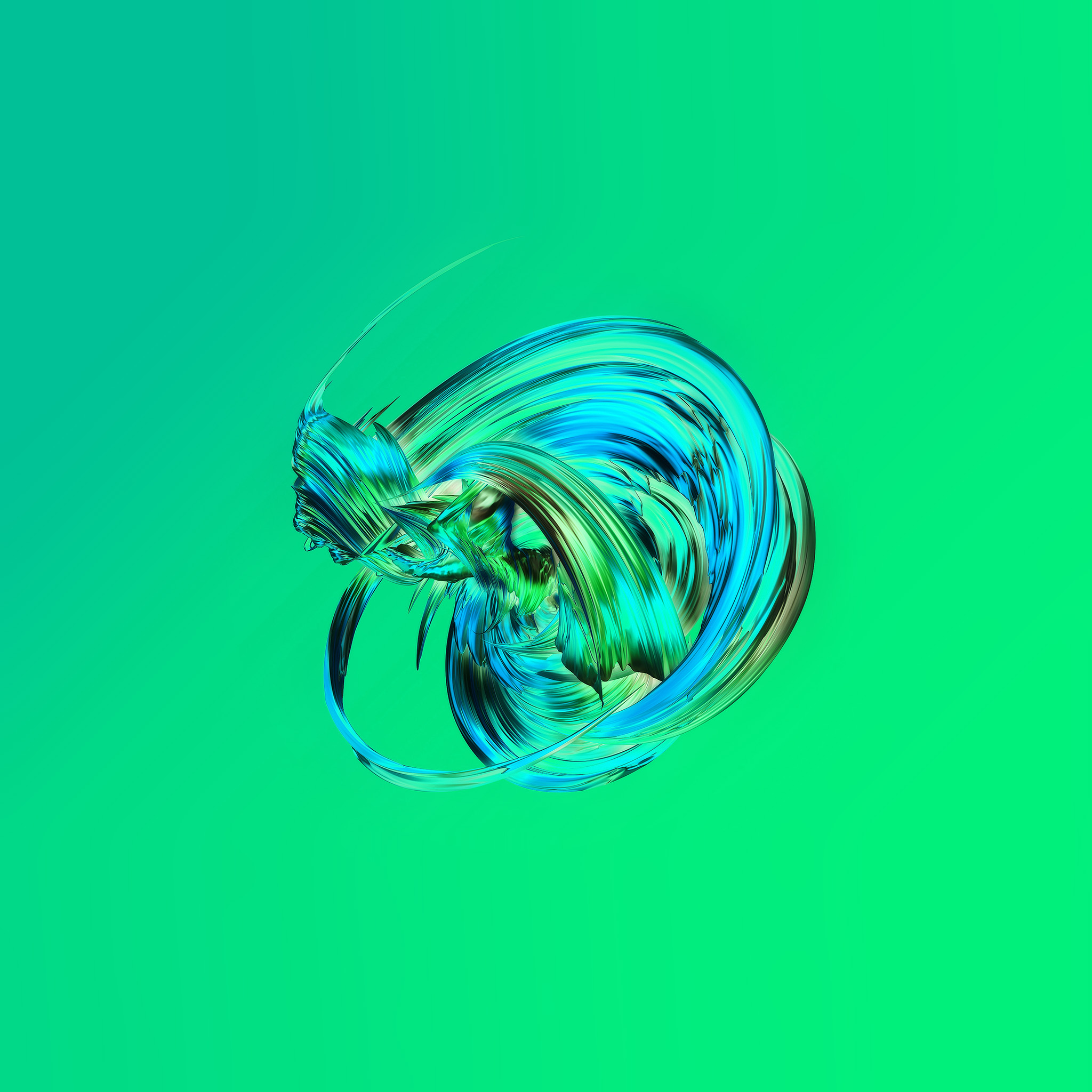 Vw21-green-art-circle