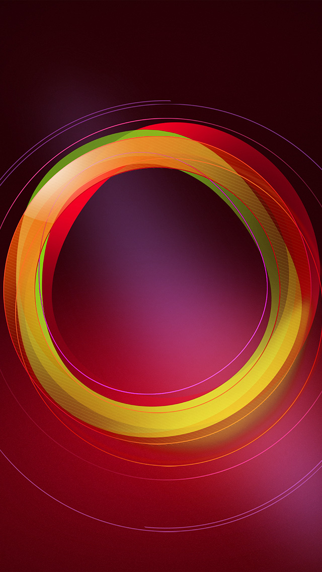 freeios8.com-iphone-4-5-6-plus-ipad-ios8-vw27-circle-abstract-red-pattern-background