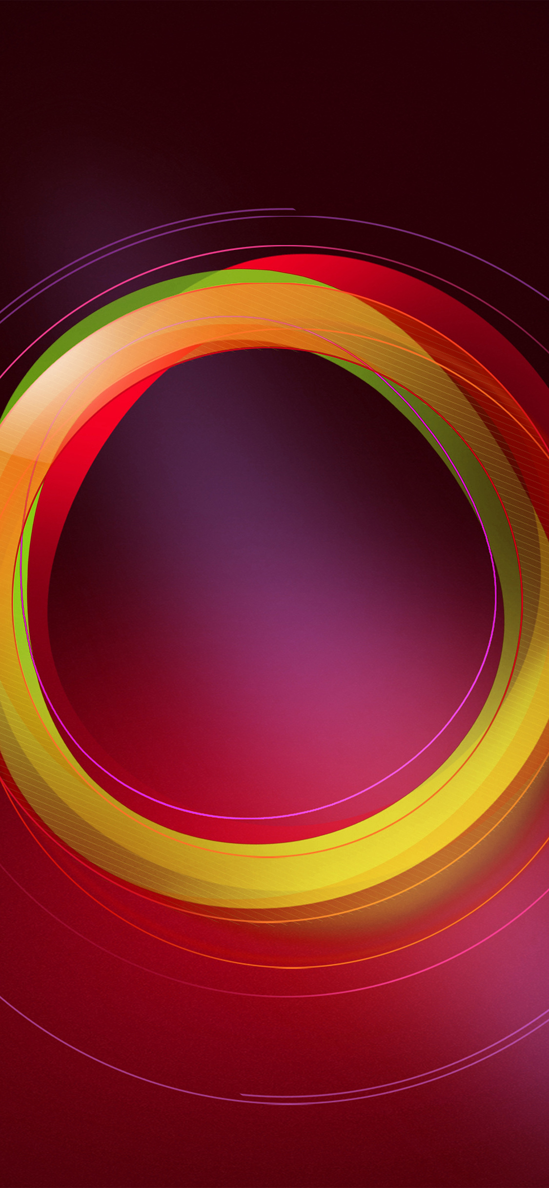 iPhonexpapers.com-Apple-iPhone-wallpaper-vw27-circle-abstract-red-pattern-background