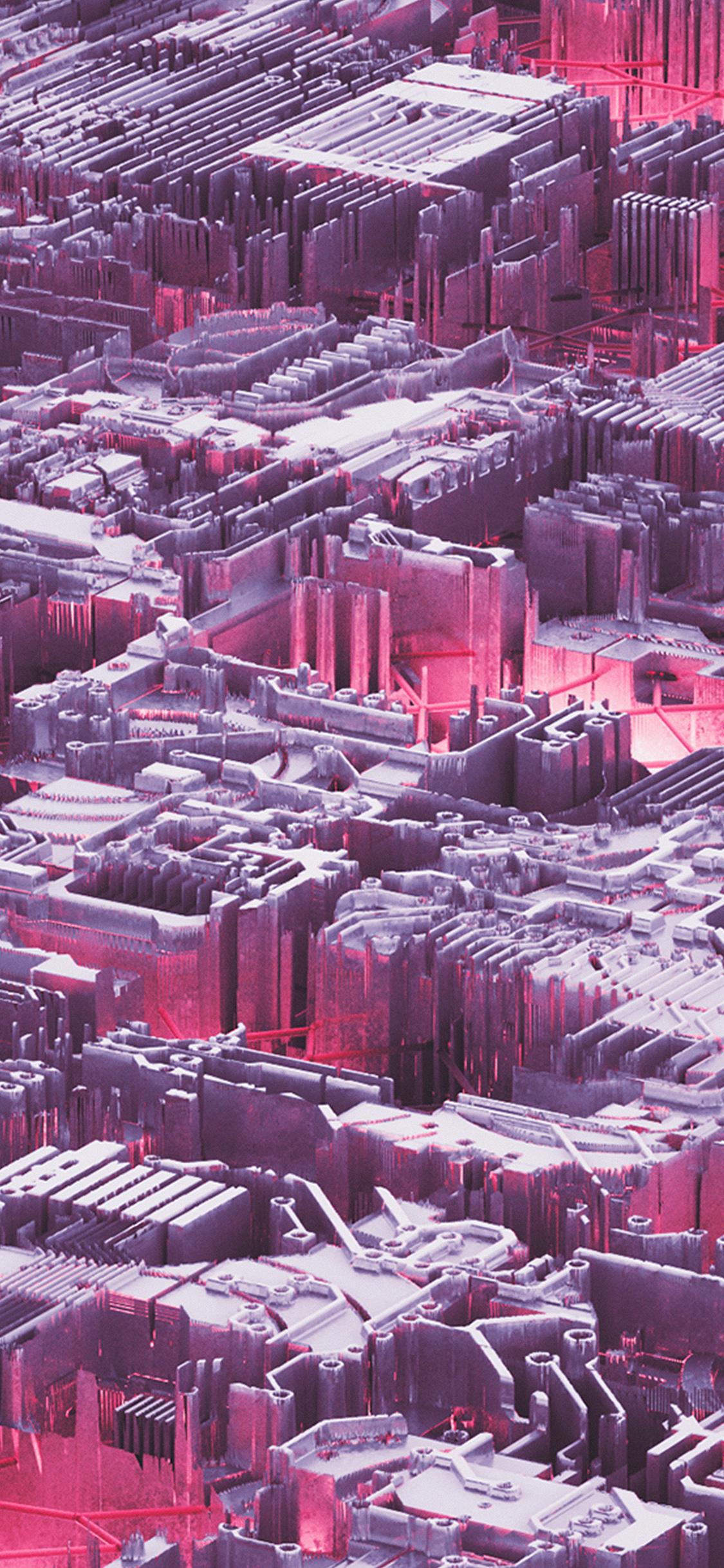 iPhoneXpapers.com-Apple-iPhone-wallpaper-vw49-abstact-pink-purple-art-digital-pattern-background