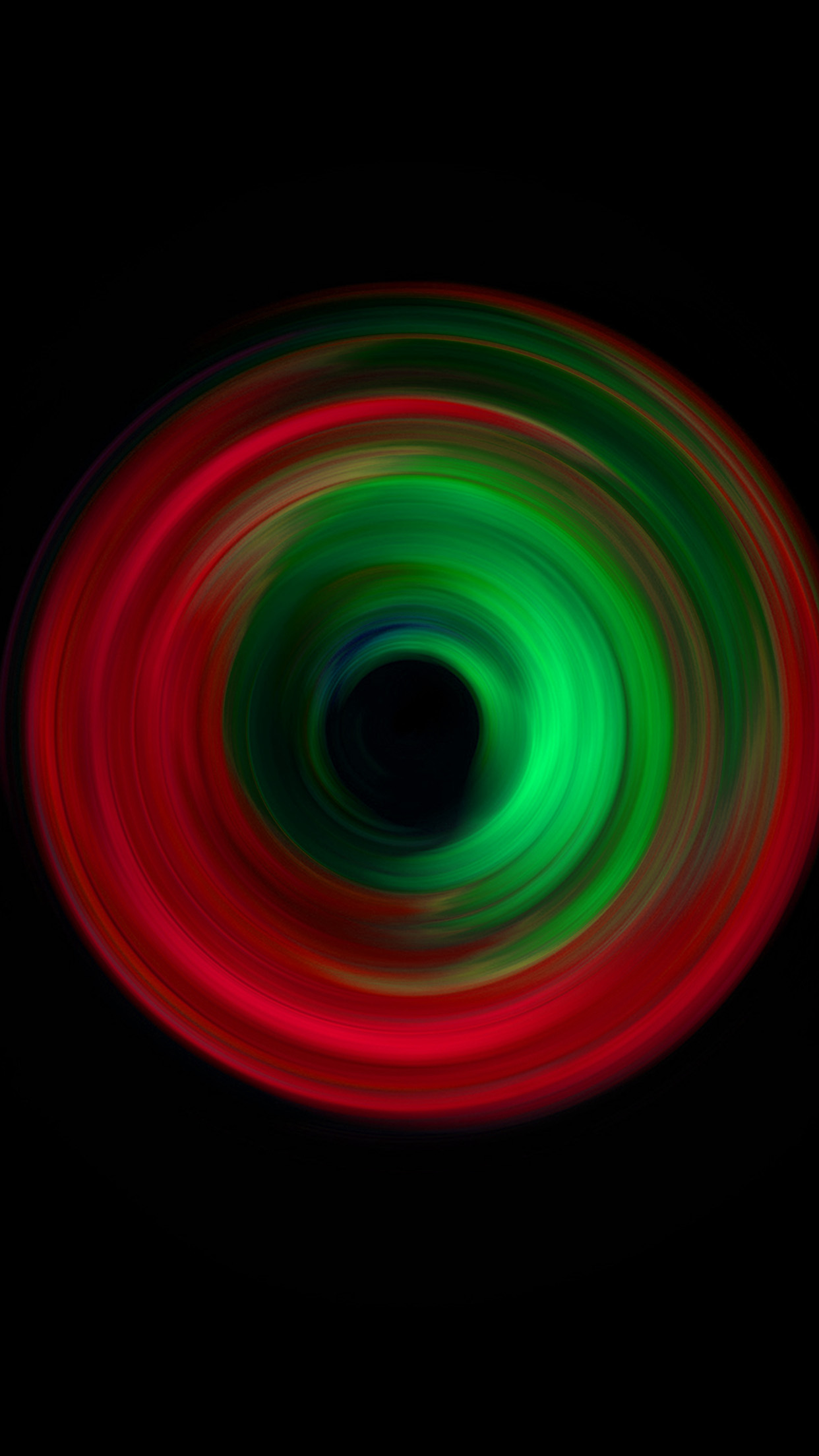 Vw78 Circle Dark Green Red Pattern Background